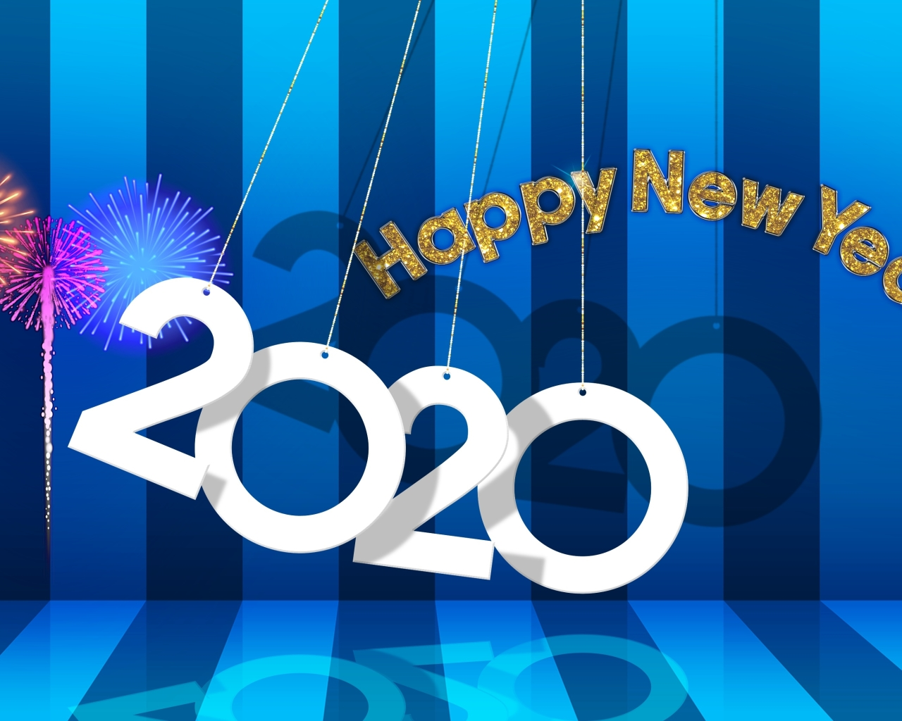 1280x1024 New Year 2020 1280x1024 Resolution Wallpaper, HD Other