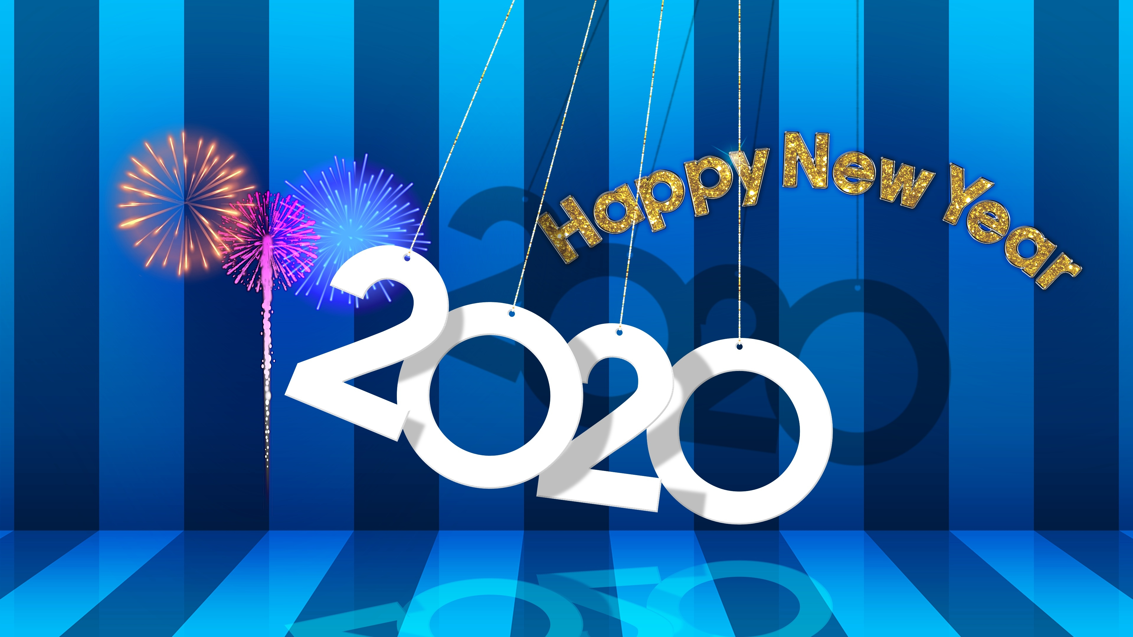 New Year 2020 Wallpaper, HD Other 4K Wallpapers, Images ...