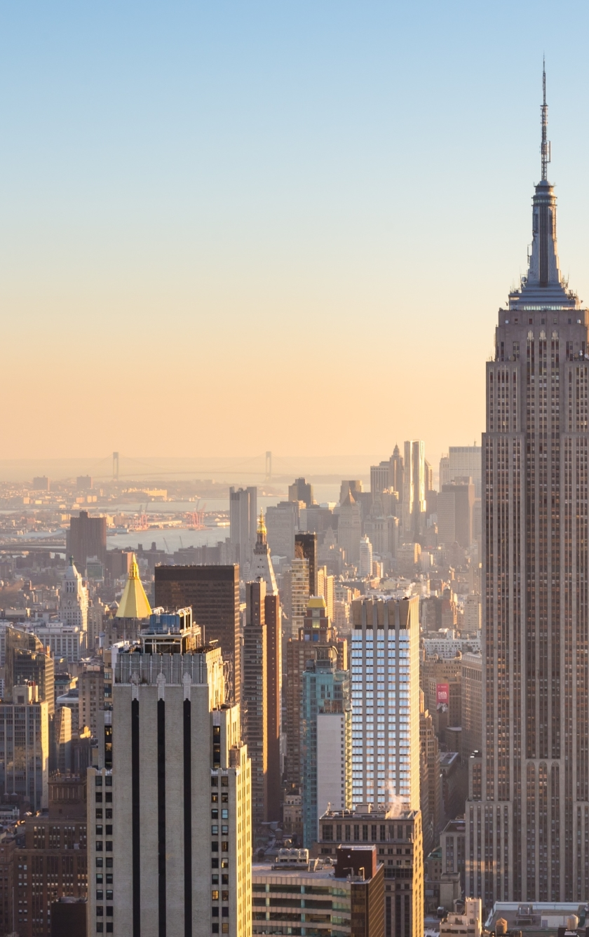 New York City Buildings At Day Sunlight, HD 4K Wallpaper