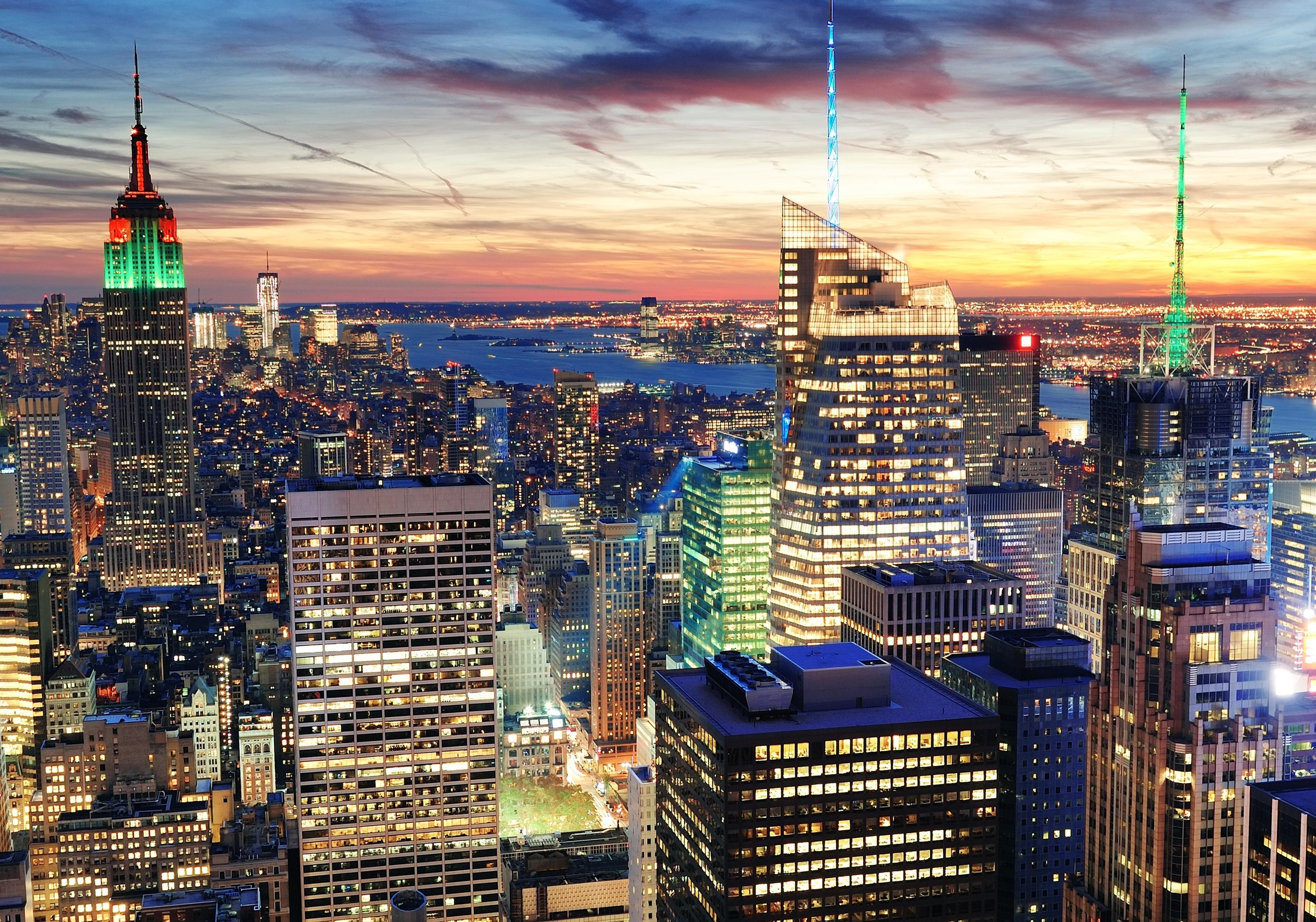 Download New York City Nyc Usa 960x544 Resolution HD 4K Wallpaper