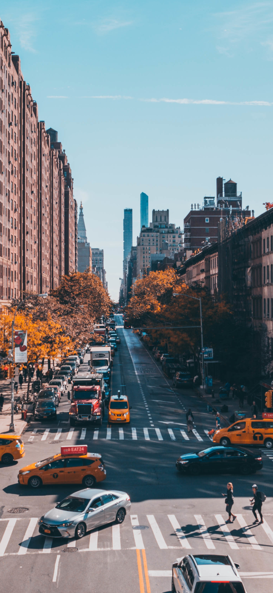 1080x2340 New York City Street Photography 1080x2340 Resolution Wallpaper Hd City 4k Wallpapers Images Photos And Background