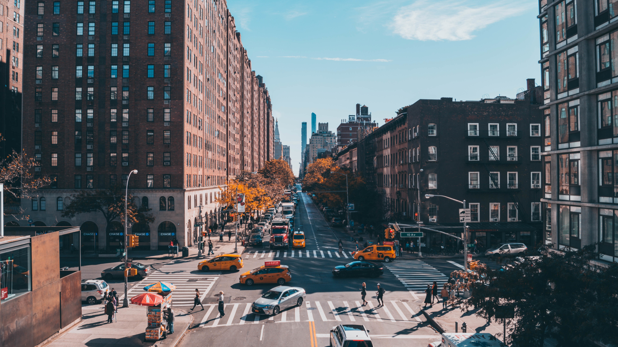 Download New York City Street Photography 1366x768 ... City Street Photography