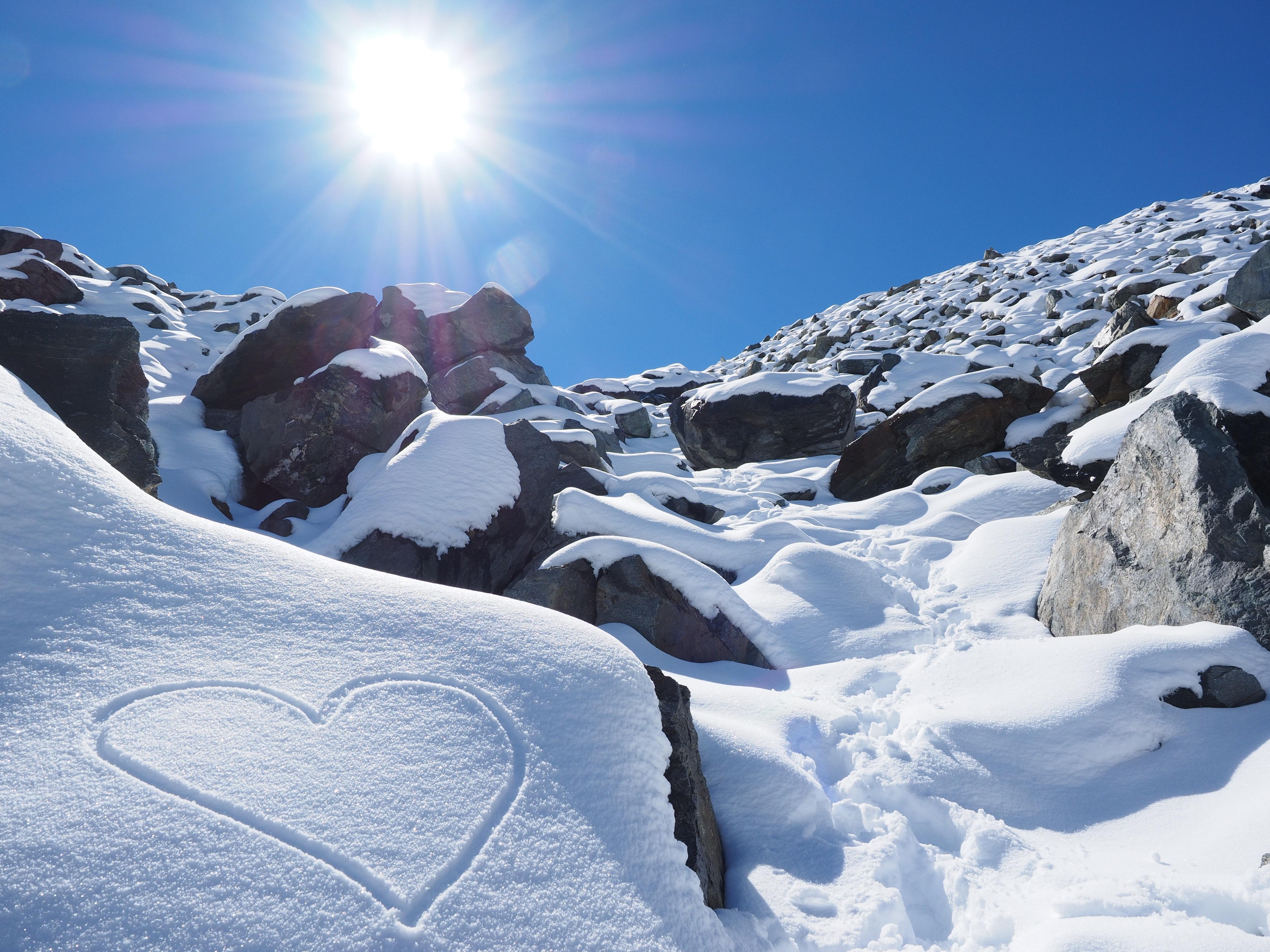 снег камни гора snow stones mountain бесплатно