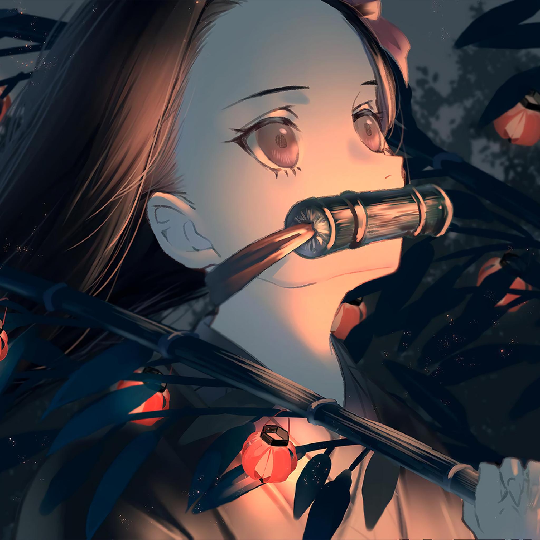2048x2048 Nezuko Kamado Artwork Ipad Air Wallpaper, HD ...