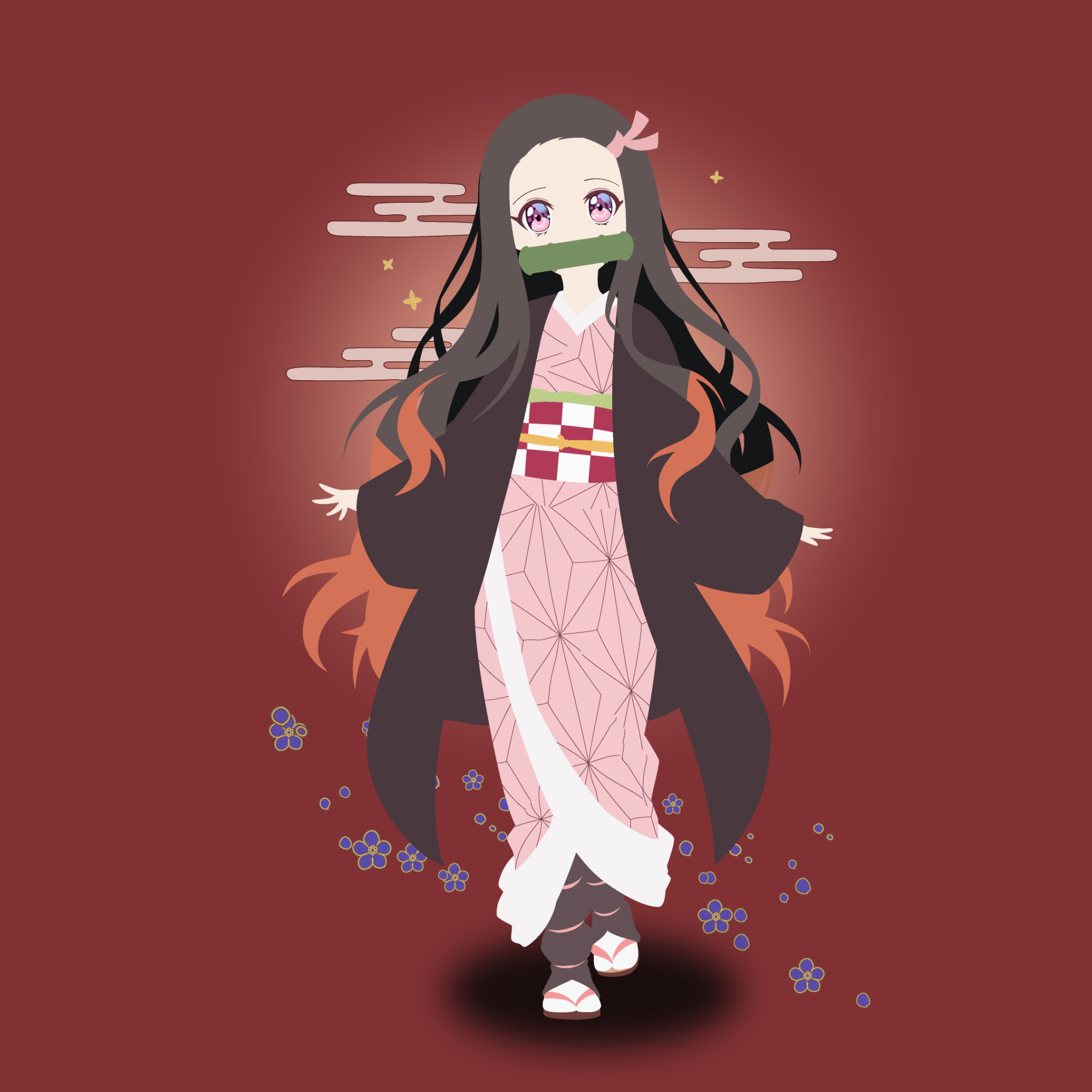 2048x2048 Nezuko Ipad Air Wallpaper, HD Anime 4K ...