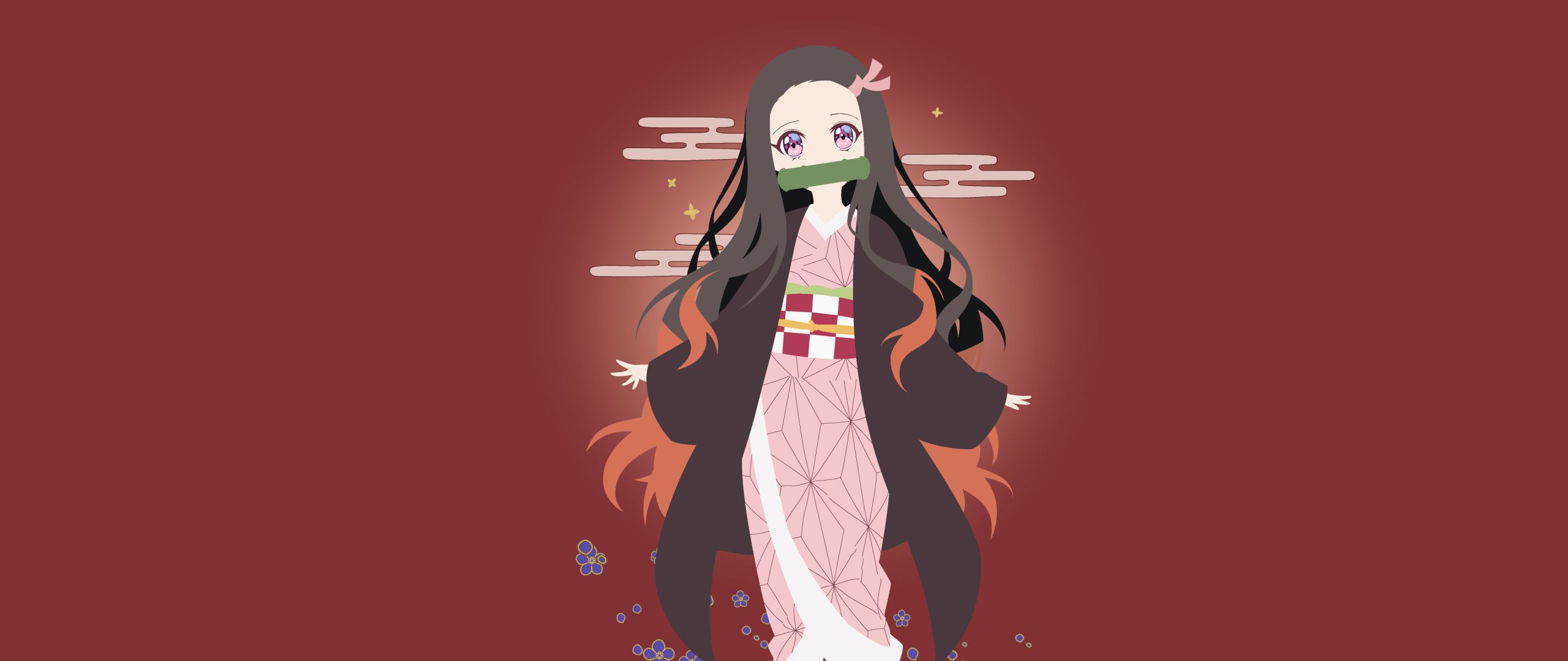 2560x1080 Nezuko 2560x1080 Resolution Wallpaper, HD Anime 4K Wallpapers, Images, Photos and ...