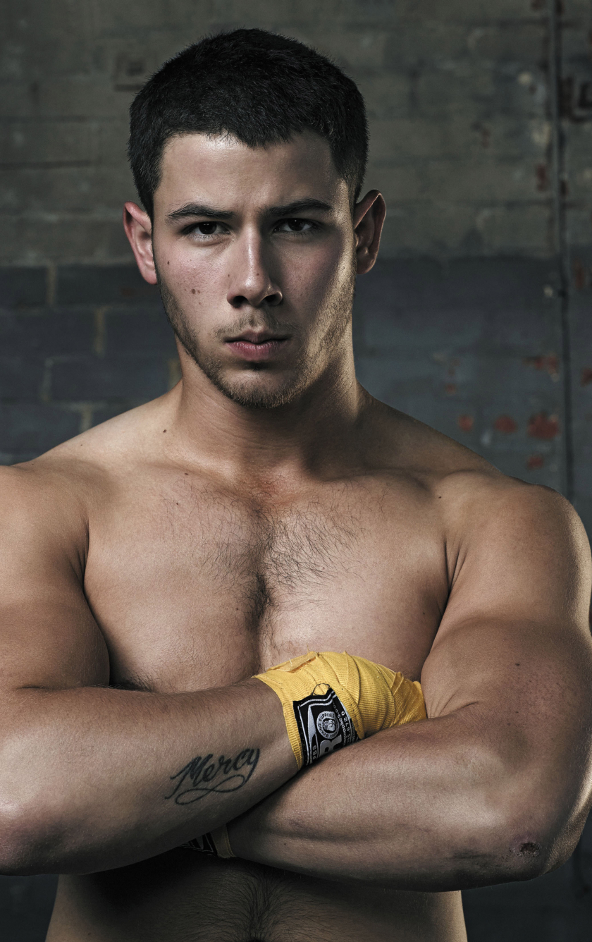 Nick Jonas Bodybuilding, HD 4K Wallpaper