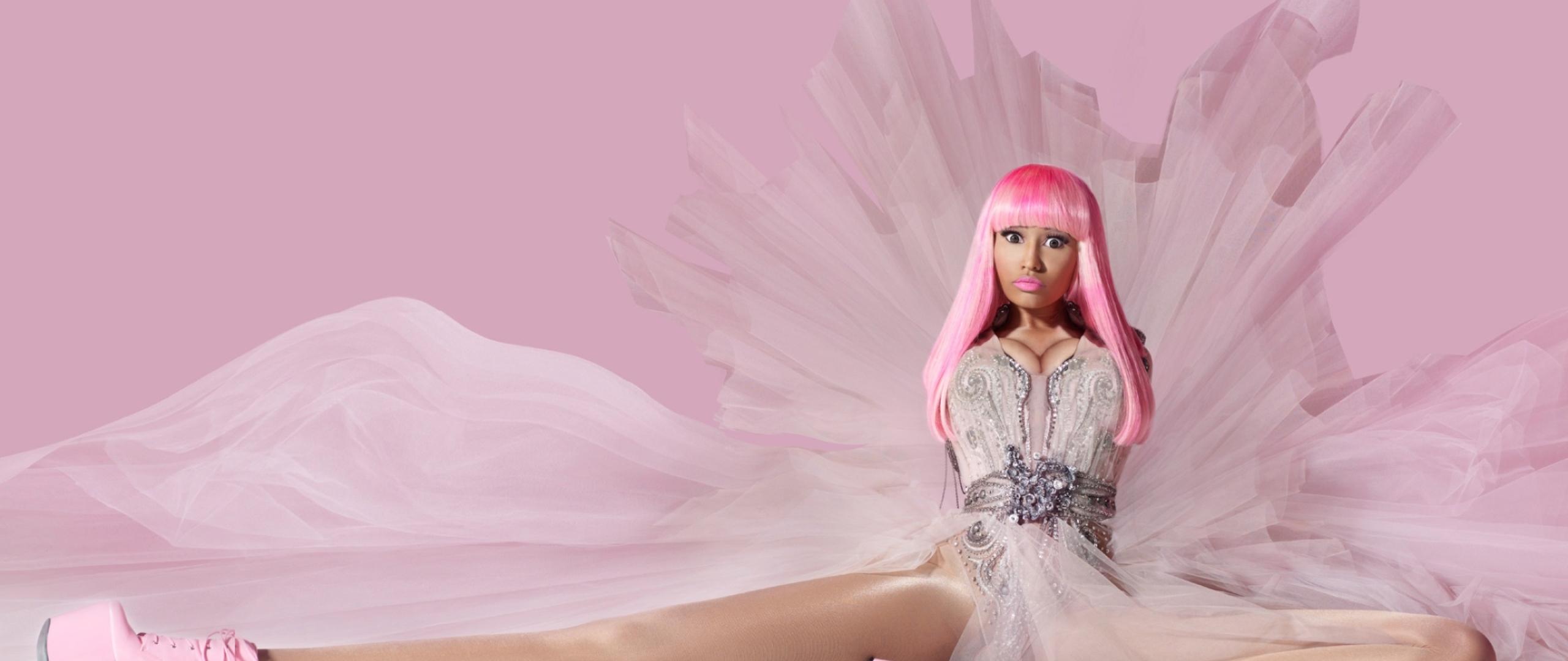 Nicki Minaj Pink Friday Photoshoot Full Hd 2k Wallpaper