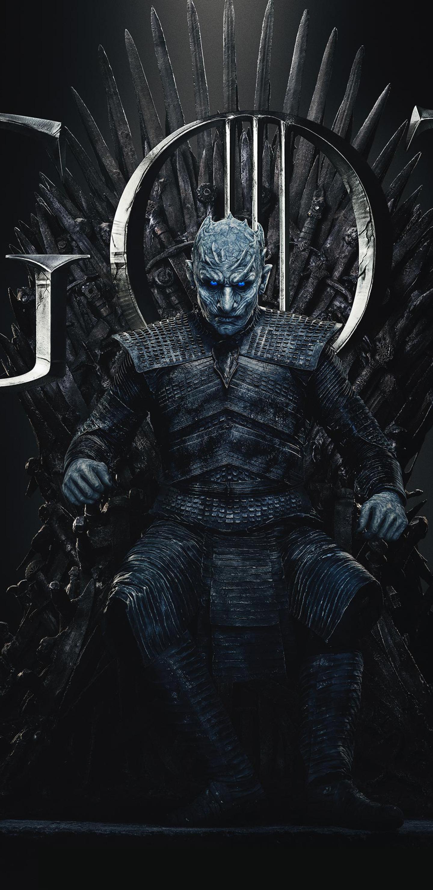 1440x2960 Night King Game Of Thrones Season 8 Poster Samsung