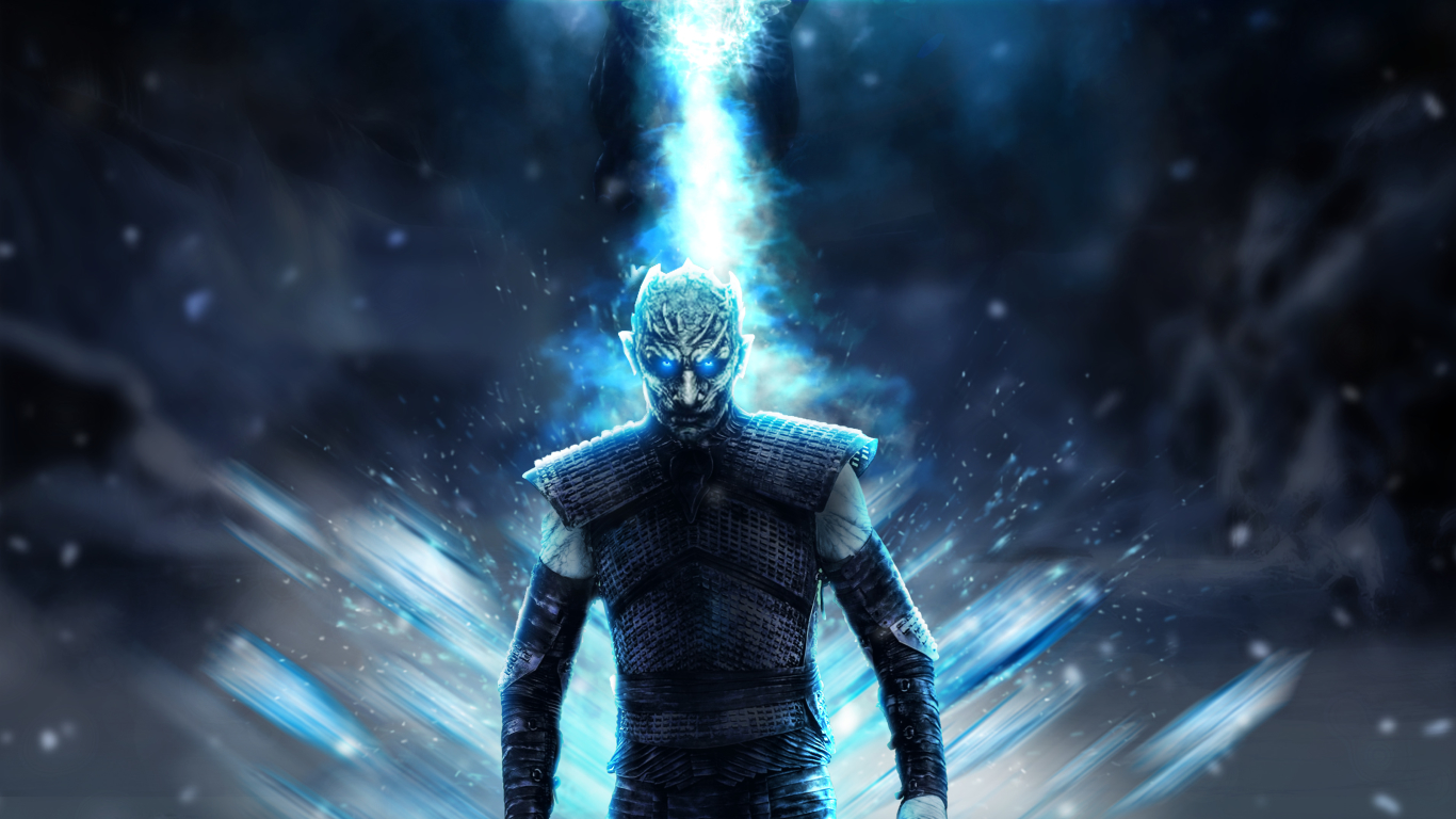 Night King GOT 8 1366x768 Resolution