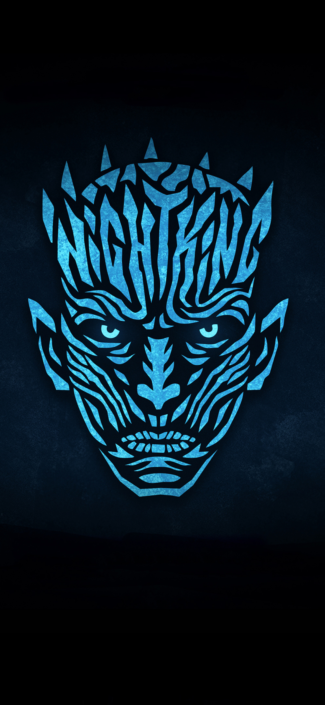 1125x2436 Night King Minimalist From Game Of Thrones Iphone