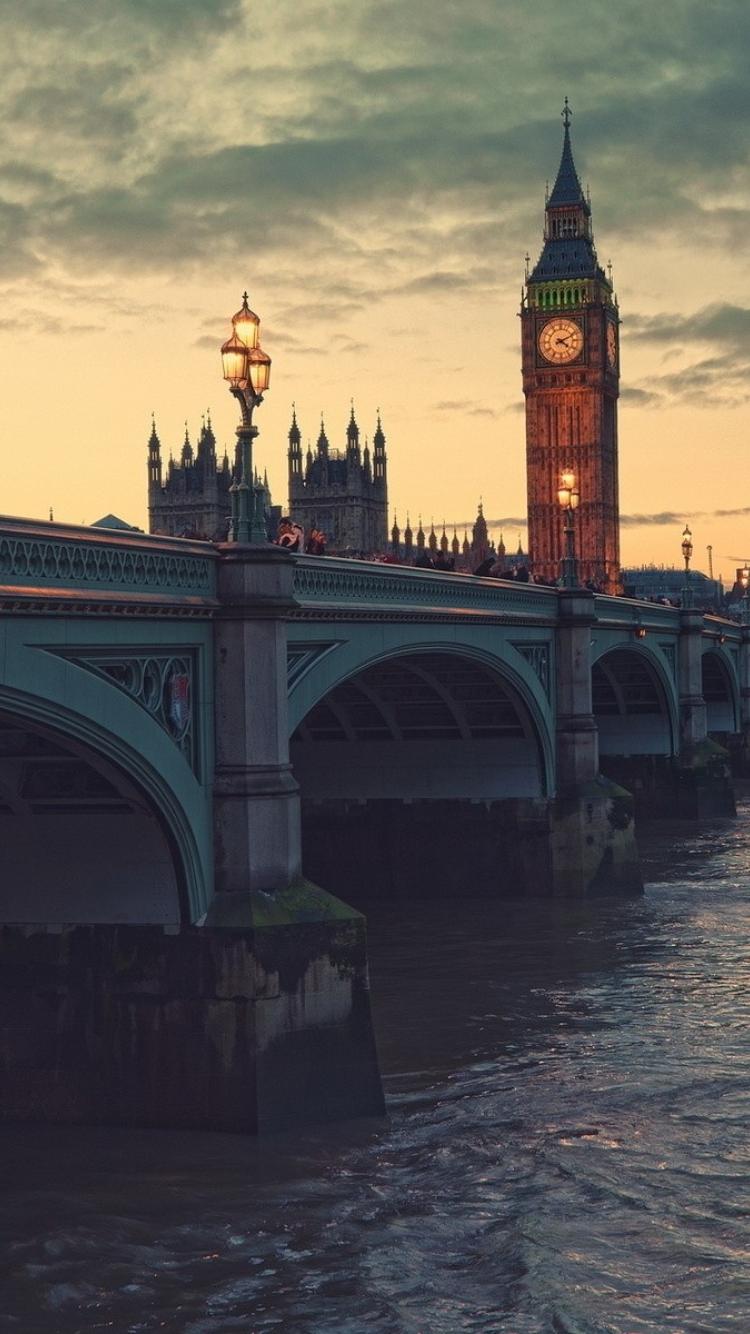 750x1334 Night London Bridge Iphone 6 Iphone 6s Iphone 7