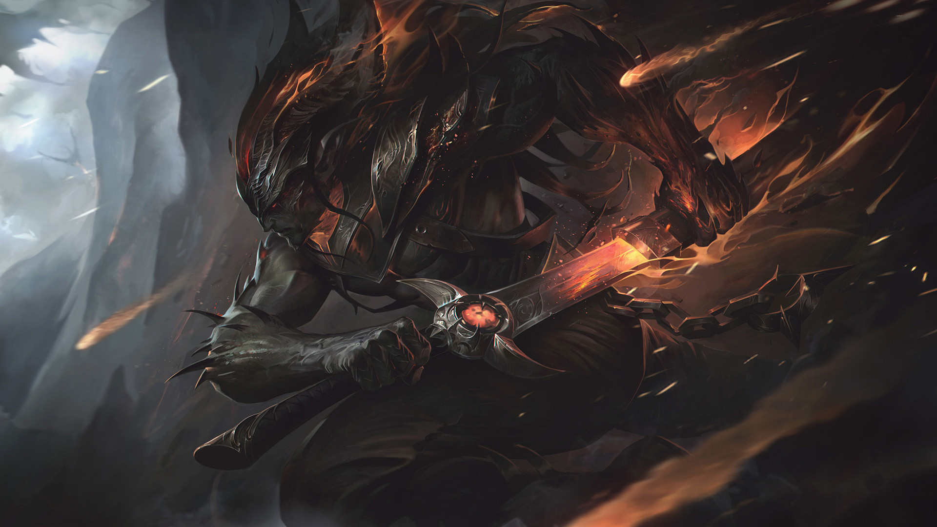 1920x1080 Nightbringer Yasuo 1080p Laptop Full Hd Wallpaper Hd Games 4k Wallpapers Images Photos And Background