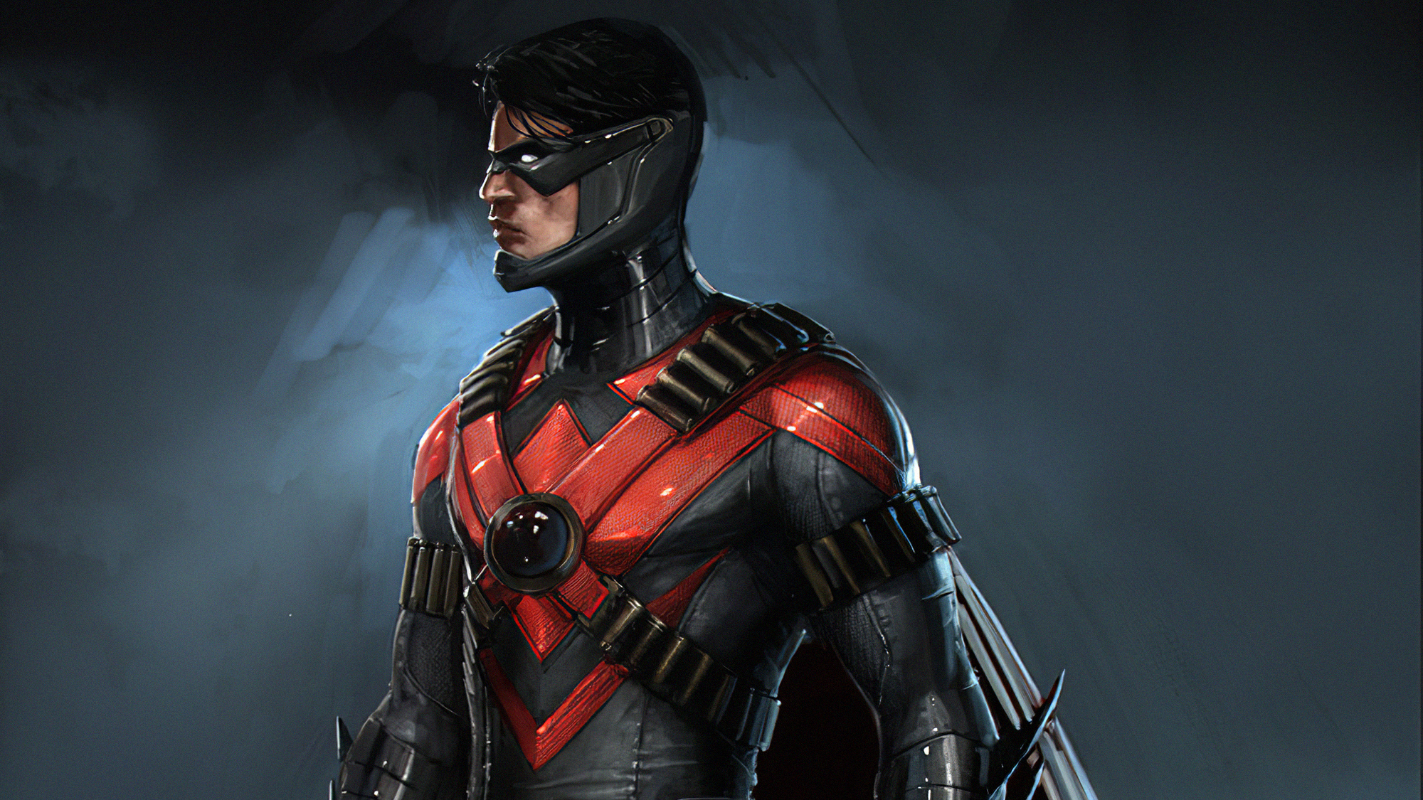 Nightwing Injustice 2 Wallpaper Hd Games 4k Wallpapers Images