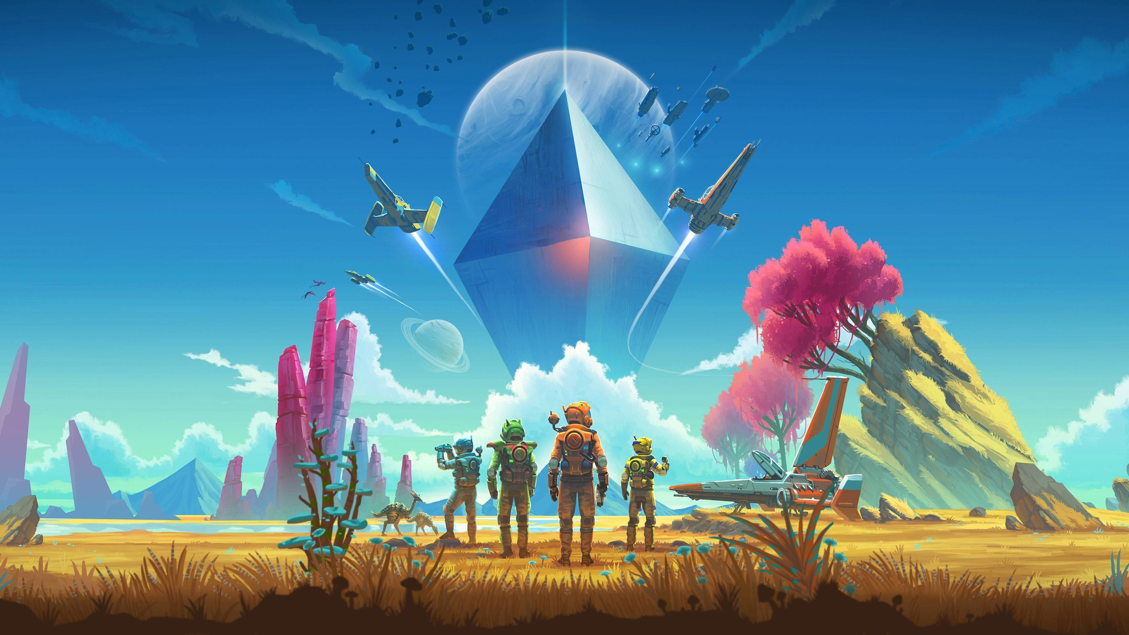 3840x2160 No Man S Sky Game 4k Wallpaper Hd Games 4k Wallpapers Images Photos And Background
