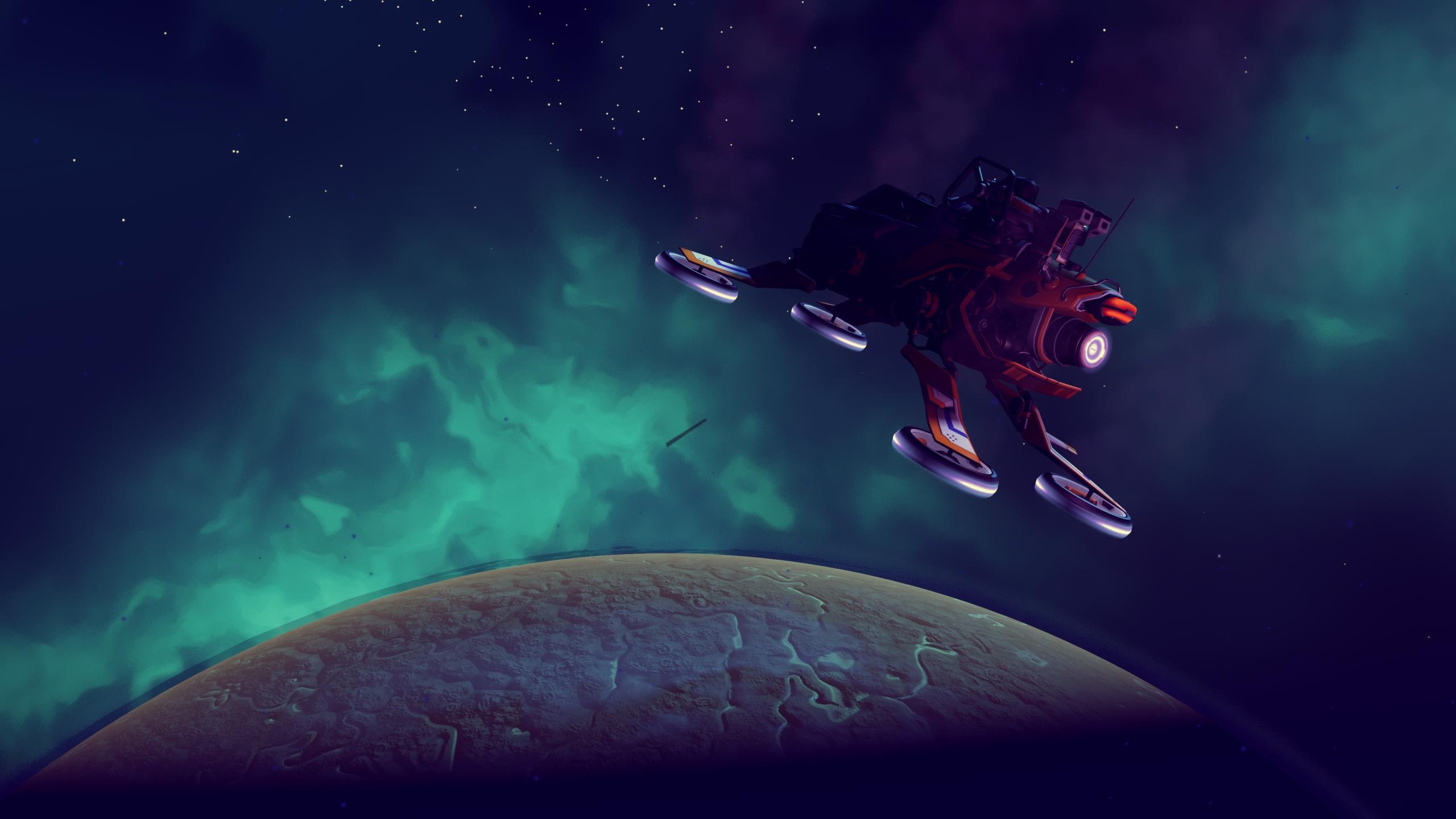 2560x1440 No Man S Sky Spaceship 1440p Resolution Wallpaper Hd