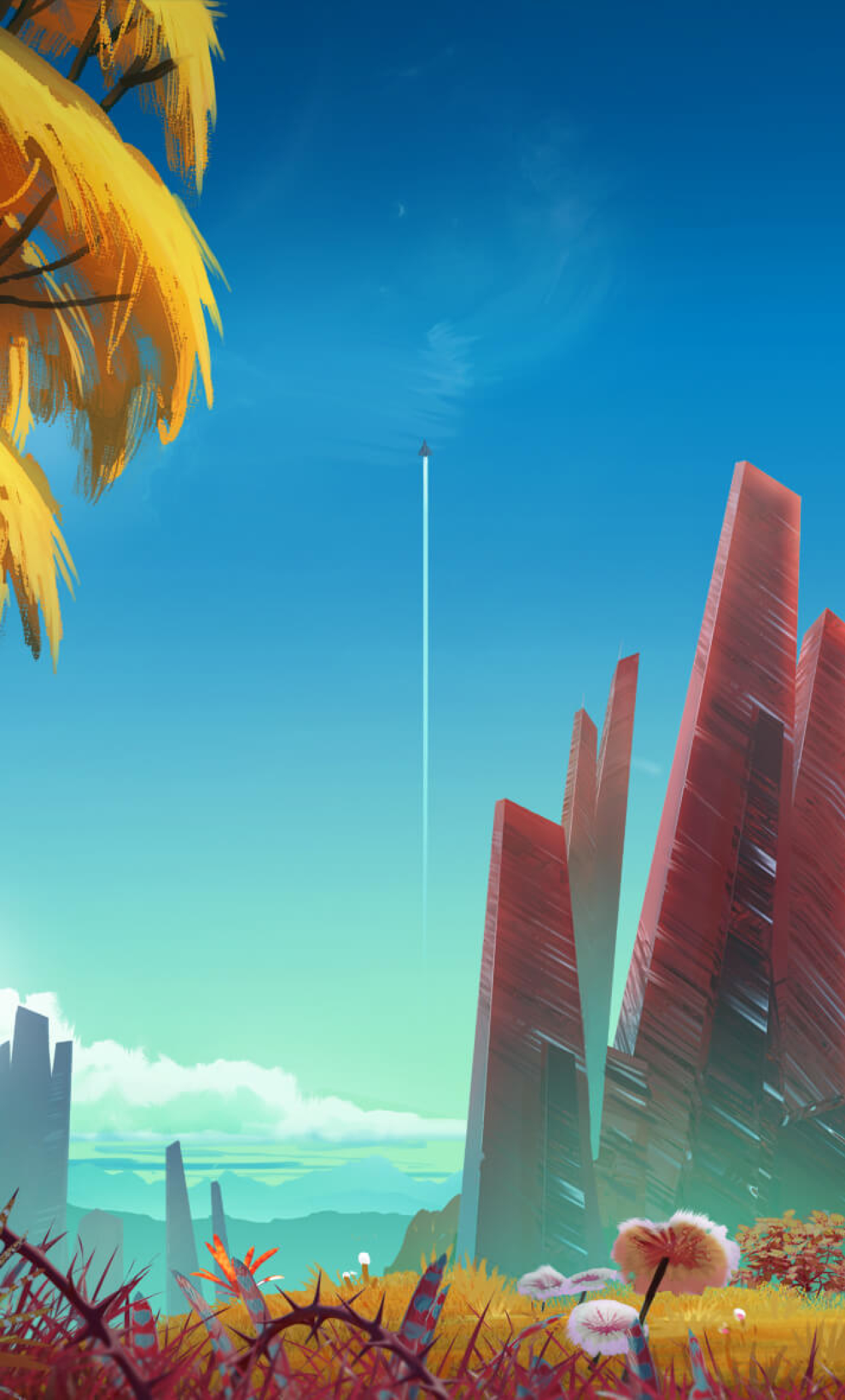 1280x2120 No Mans Sky Video Game Iphone 6 Plus Wallpaper Hd Games