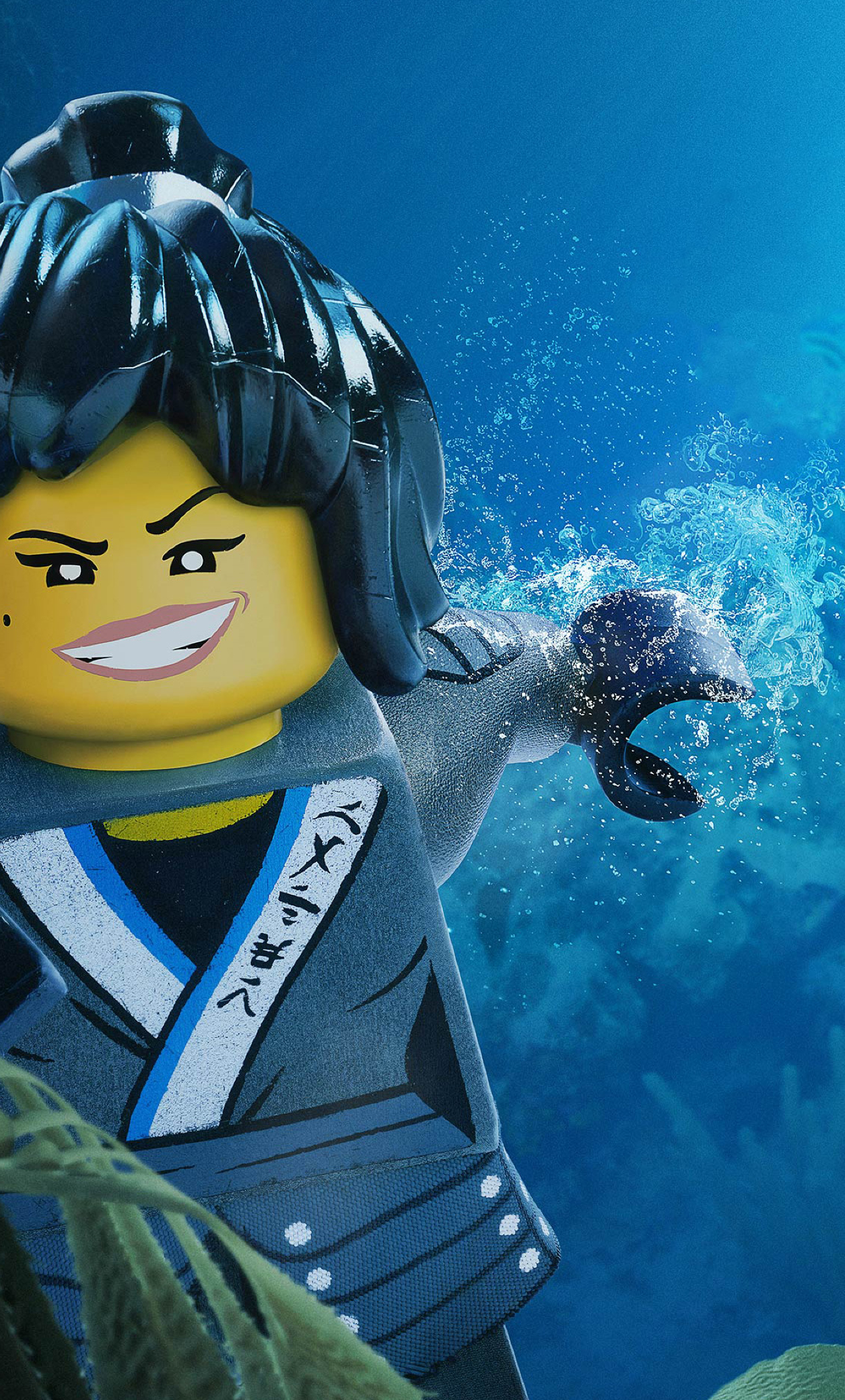 Nya from kai the lego ninjago movie full hd 2k wallpaper - Ninjago phone wallpaper ...