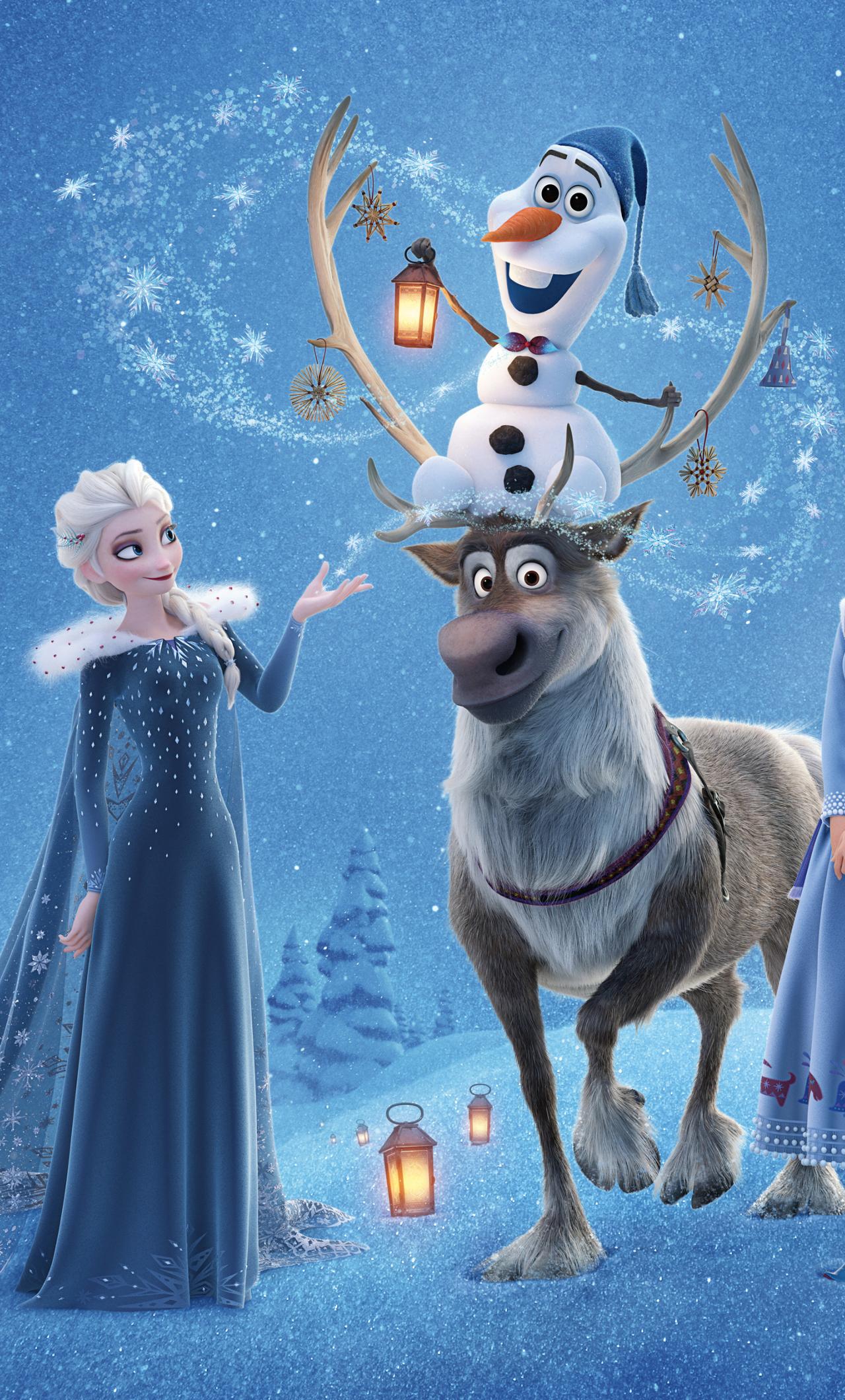 Olafs frozen adventure hd 4k wallpaper - Olaf s frozen adventure download ...