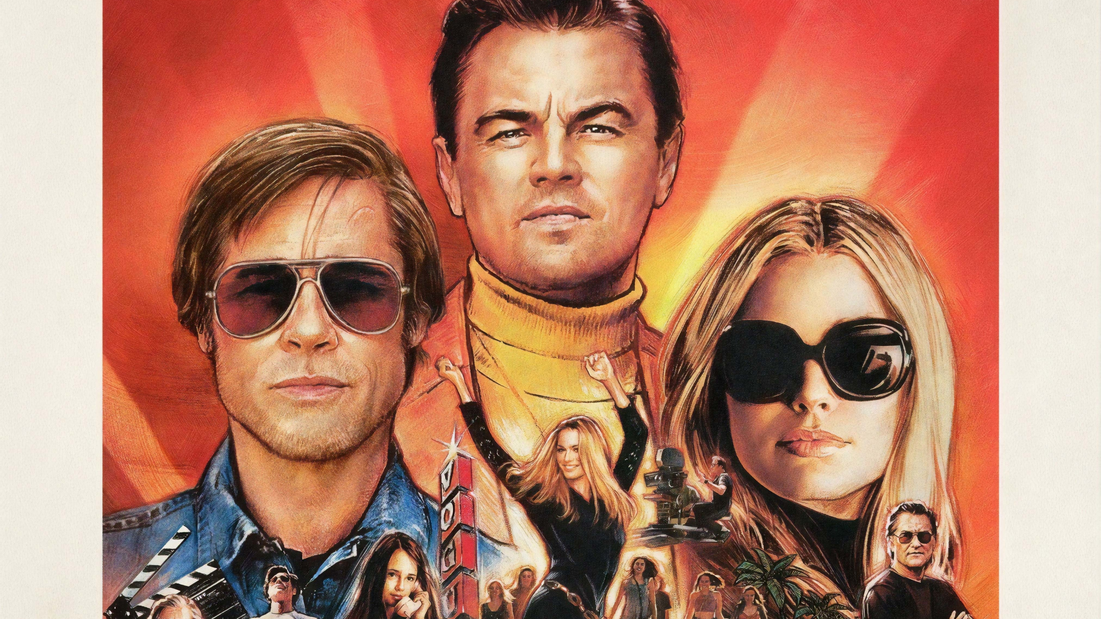 3840x2160 Once Upon A Time In Hollywood 4k Wallpaper Hd Movies 4k
