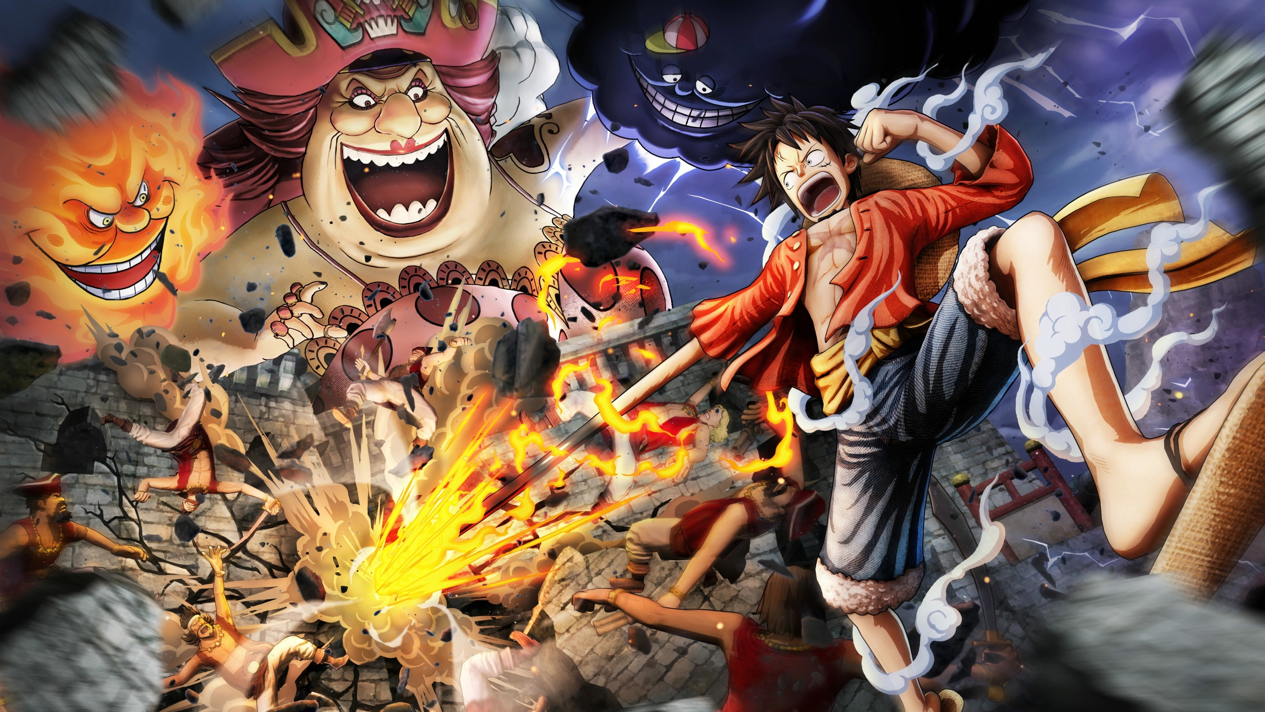 2560x1440 One Piece Pirate Warriors 1440p Resolution Wallpaper Hd Games 4k Wallpapers Images Photos And Background