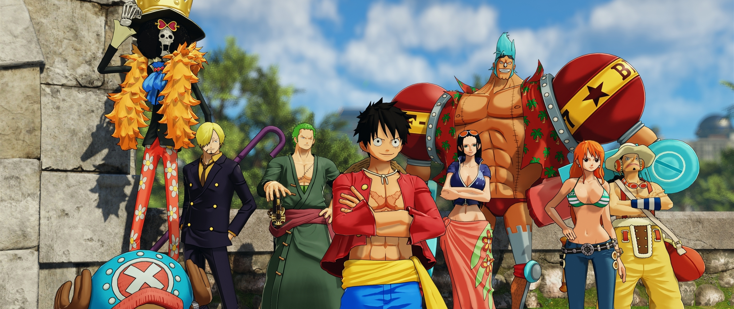 2560x1080 One Piece World Seeker 4k 2560x1080 Resolution