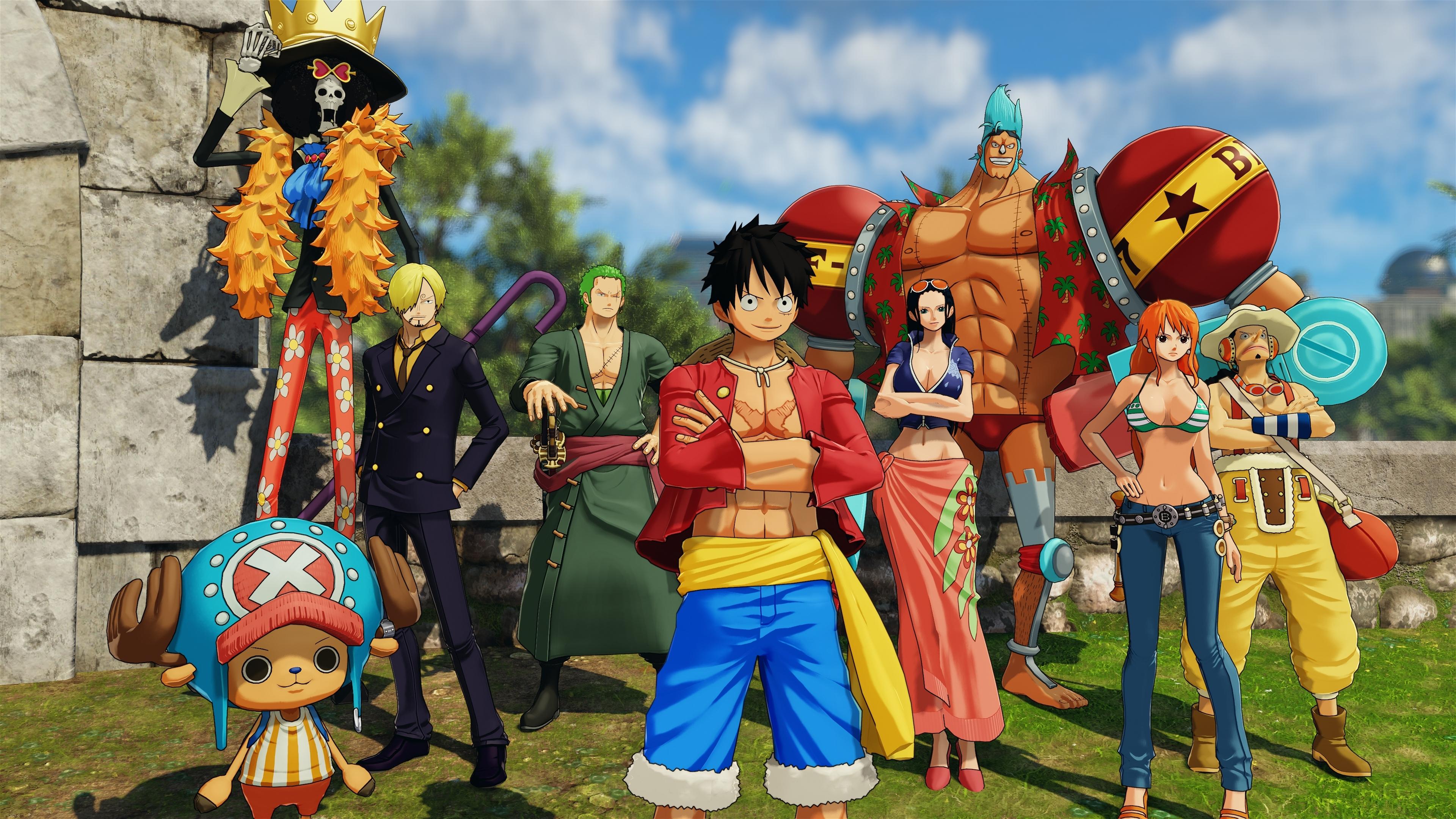 One Piece World Seeker 4K Wallpaper, HD Games 4K ...
