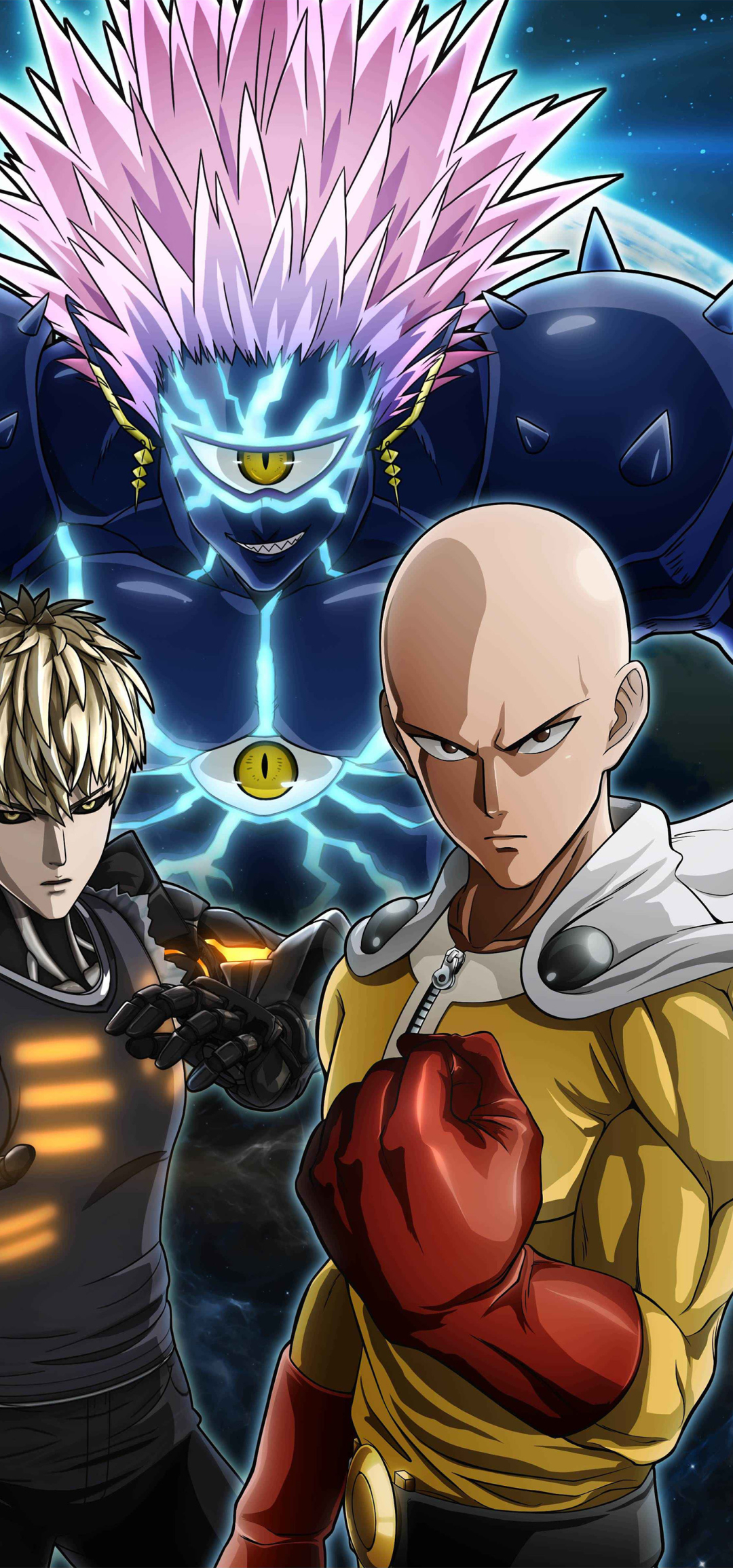 1080x2310 One Punch Man A Hero Nobody Knows Poster ...
