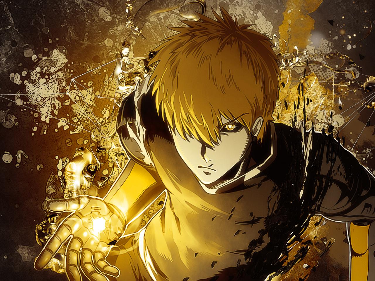 14+ Wallpaper Anime One Punch Man Genos - Tachi Wallpaper