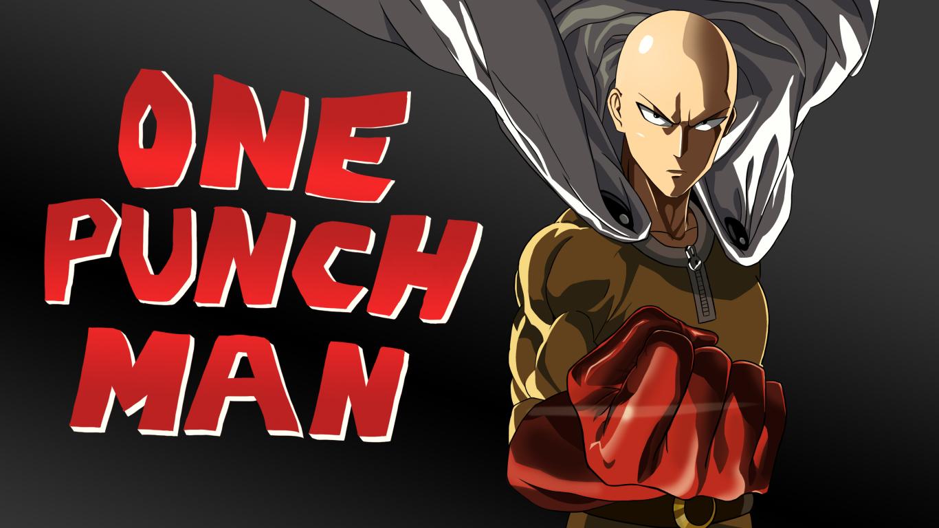 1366x768 One Punch Man Saitama Art 1366x768 Resolution