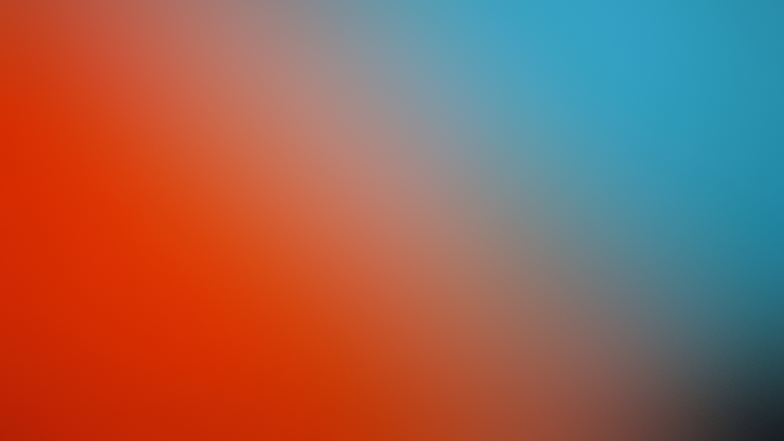 2560x1440 Orange And Blue Fire And Ice Gradient 1440p