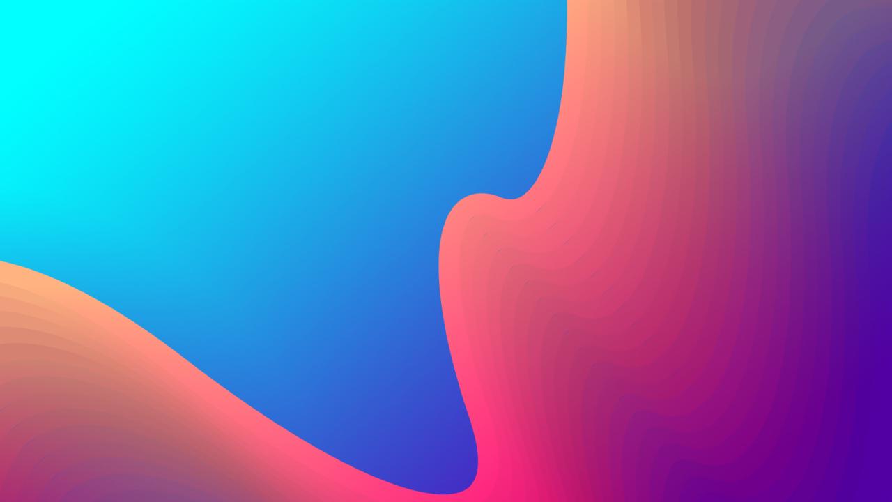 1280x720 Orange Blue Gradient Mix 720p Wallpaper Hd