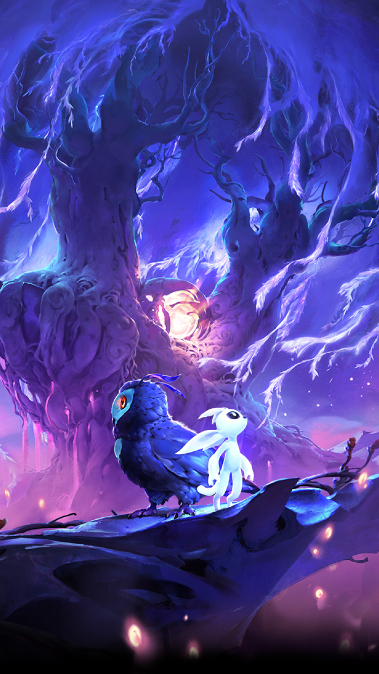 750x1334 Ori and The Will Of The Wisps iPhone 6, iPhone 6S ...