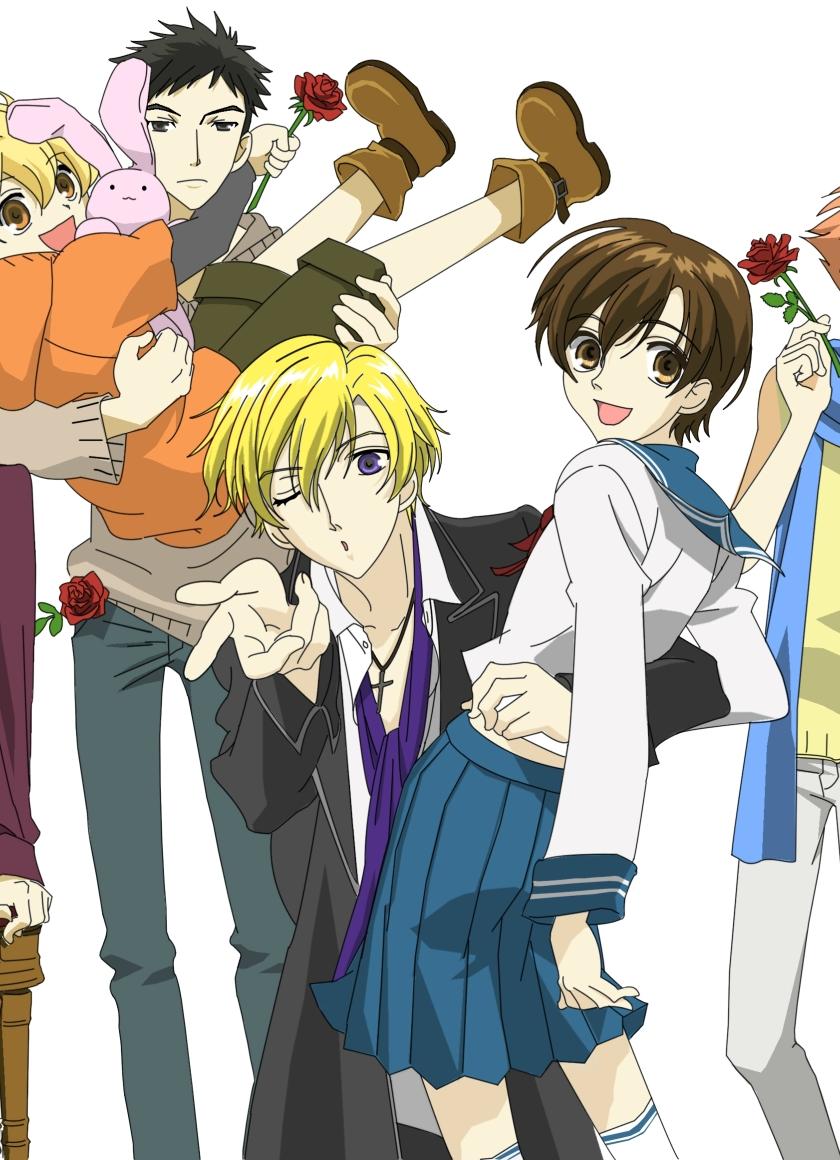 840x1160 Ouran High School Host Club 2006 Anime 840x1160