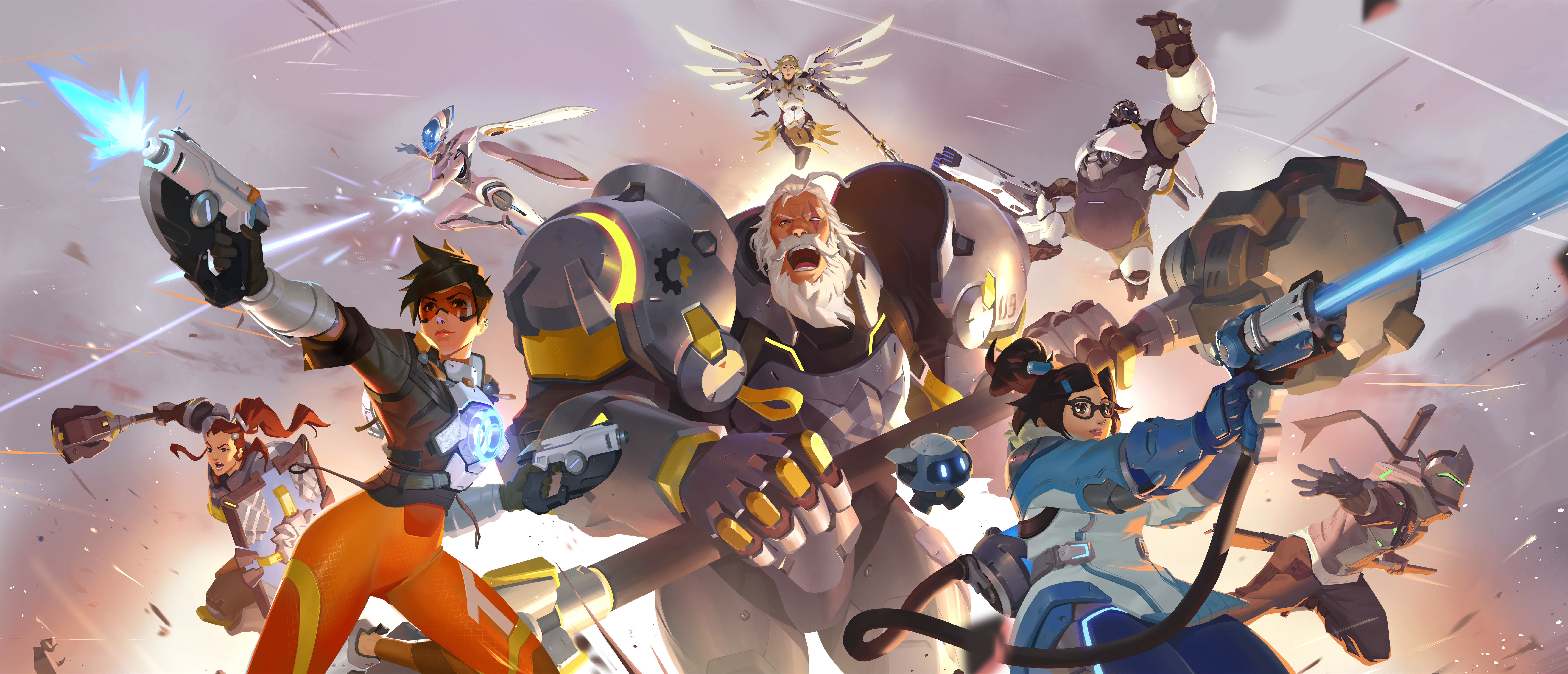 Overwatch 2 4k 8k Wallpaper Hd Games 4k Wallpapers Images