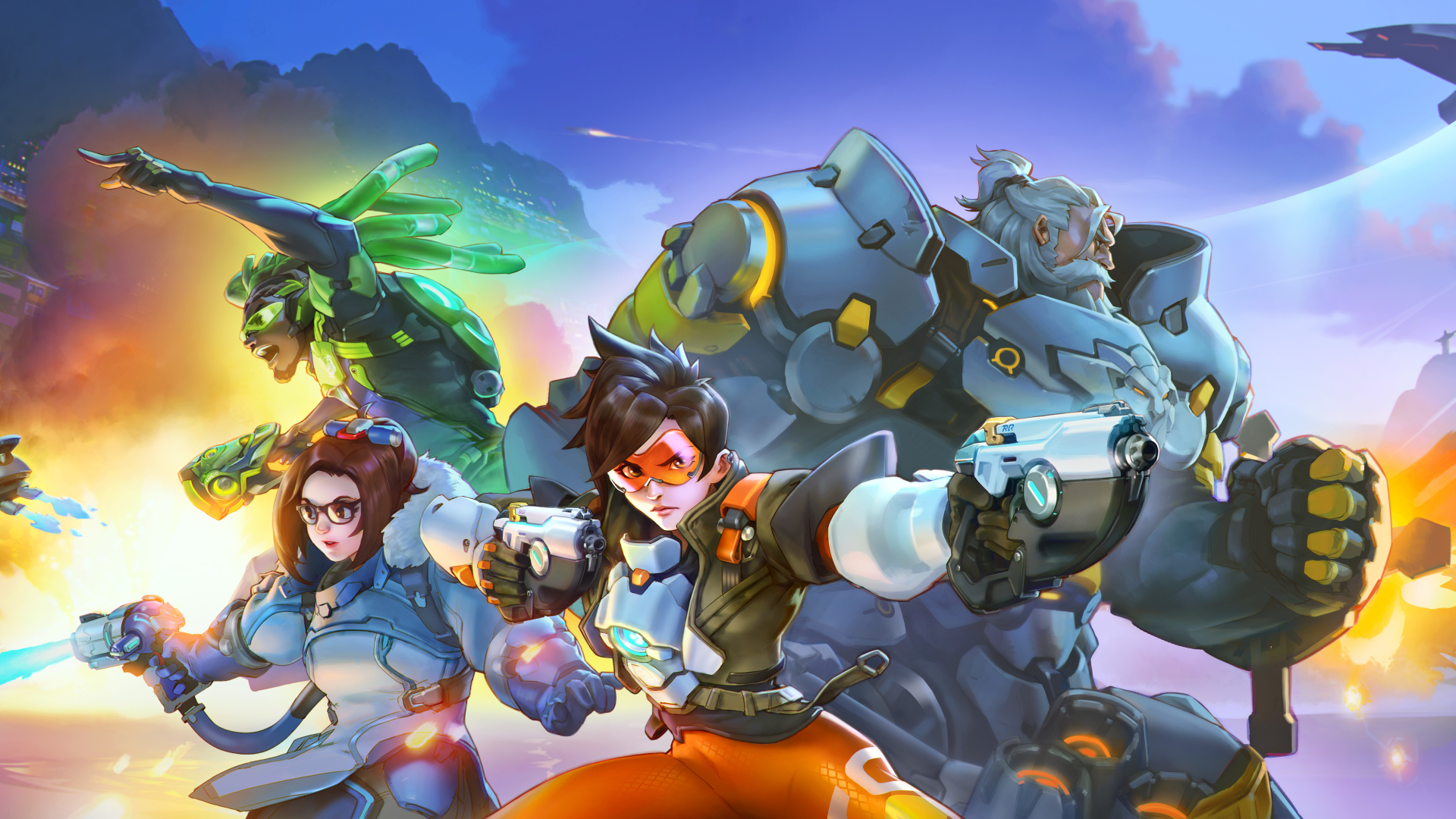 1920x1080 Overwatch 2 Heroes 1080p Laptop Full Hd Wallpaper