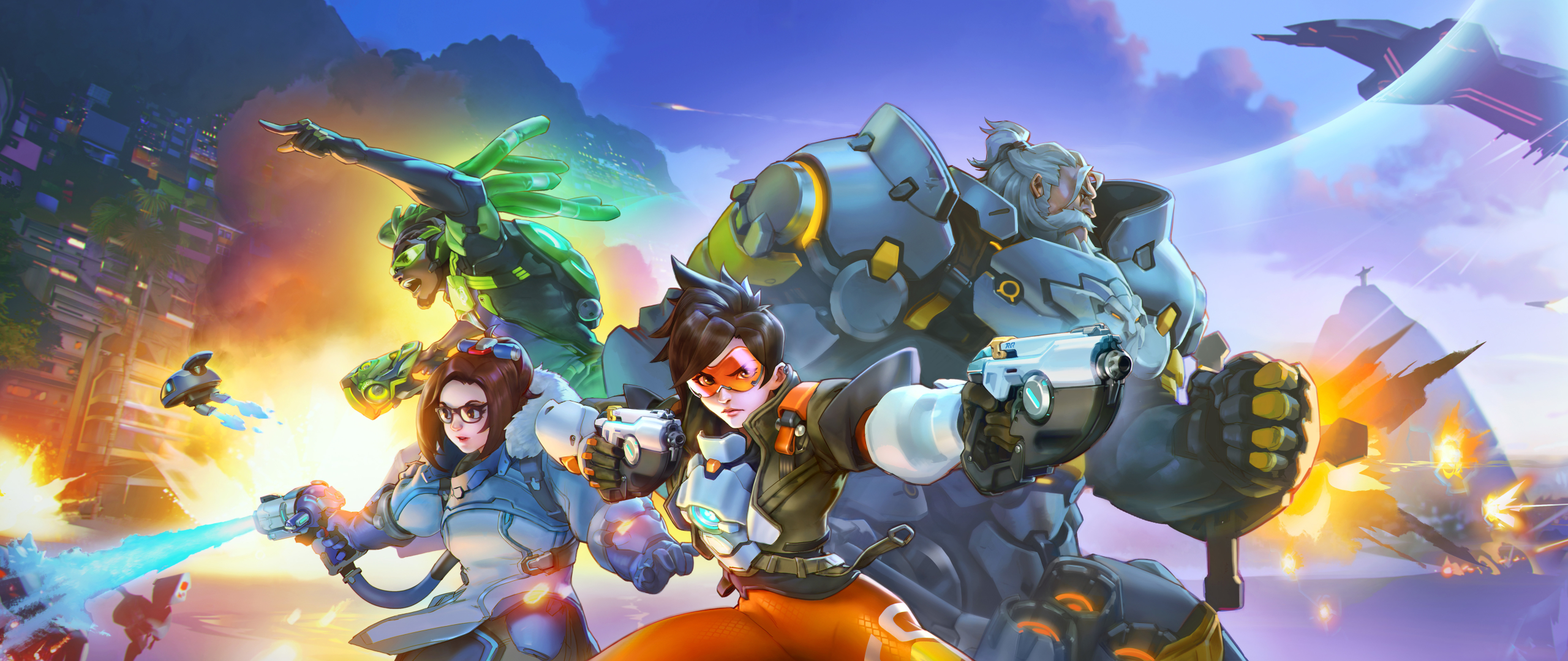 2560x1080 Overwatch 2 Heroes 2560x1080 Resolution Wallpaper Hd Games 4k Wallpapers Images Photos And Background