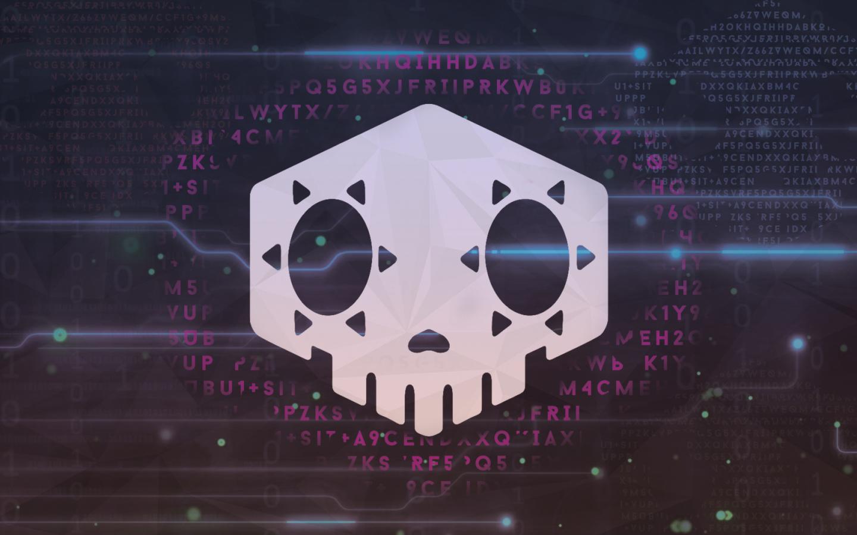 Overwatch Sombra Logo, Full HD Wallpaper