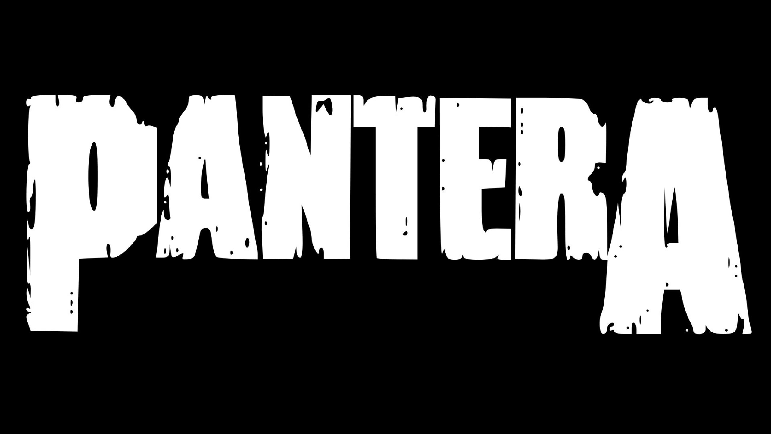 2560x1440 Pantera Name Font 1440p Resolution Wallpaper Hd