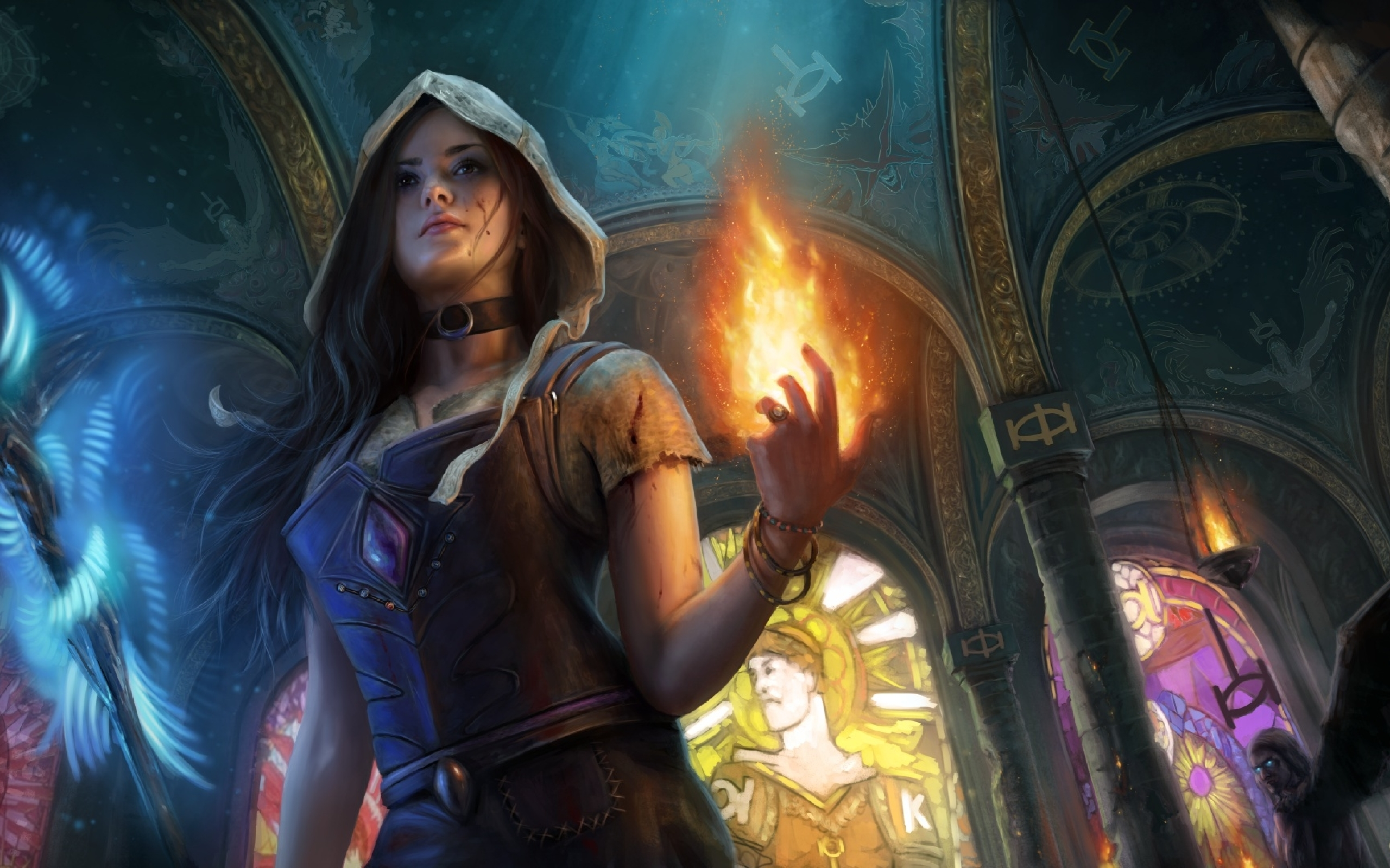Path Of Exile Fantasy Girl Artwork, Full HD Wallpaper