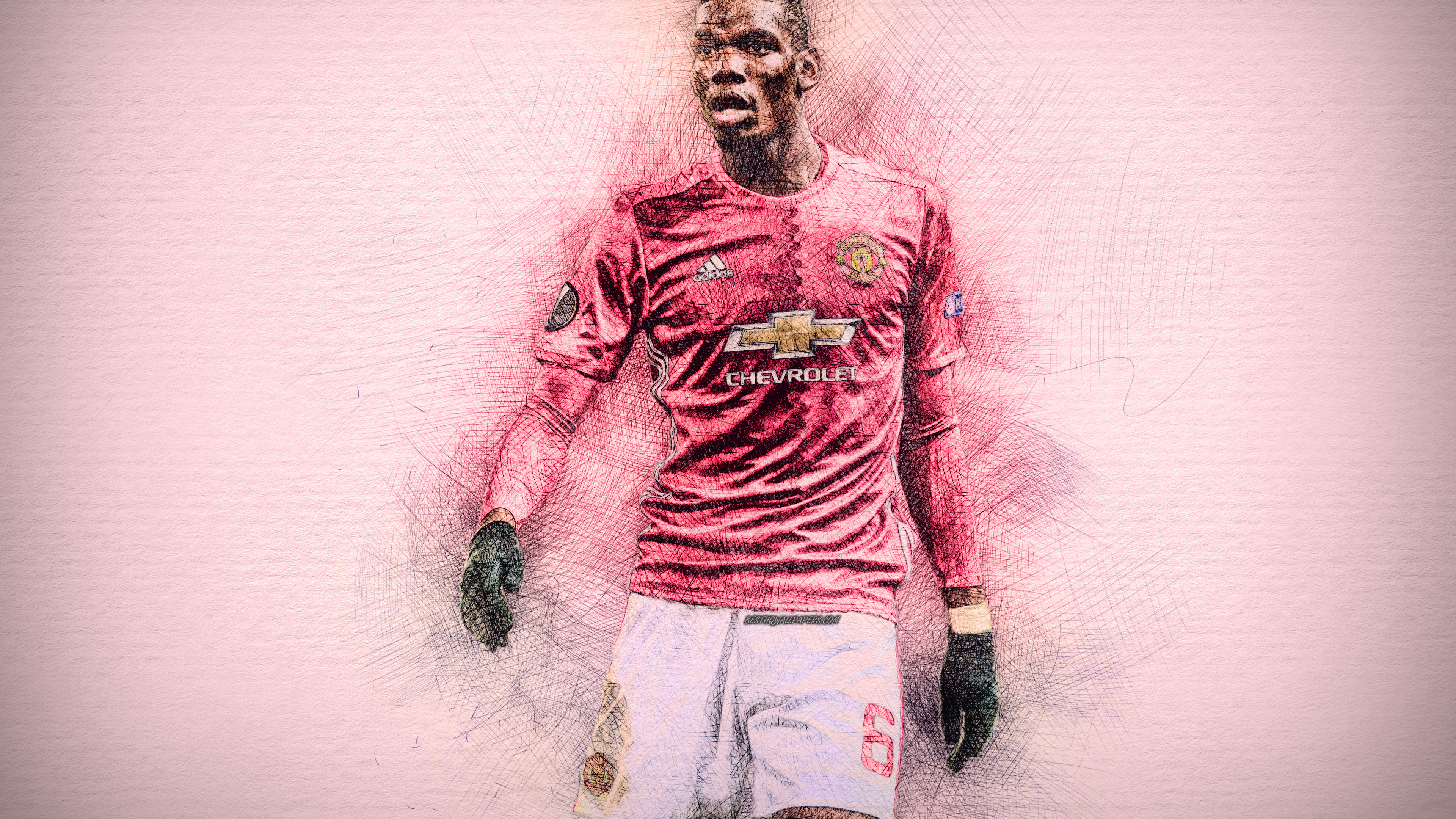 3840x2160 Paul Pogba Fc Manchester United 4k Wallpaper Hd