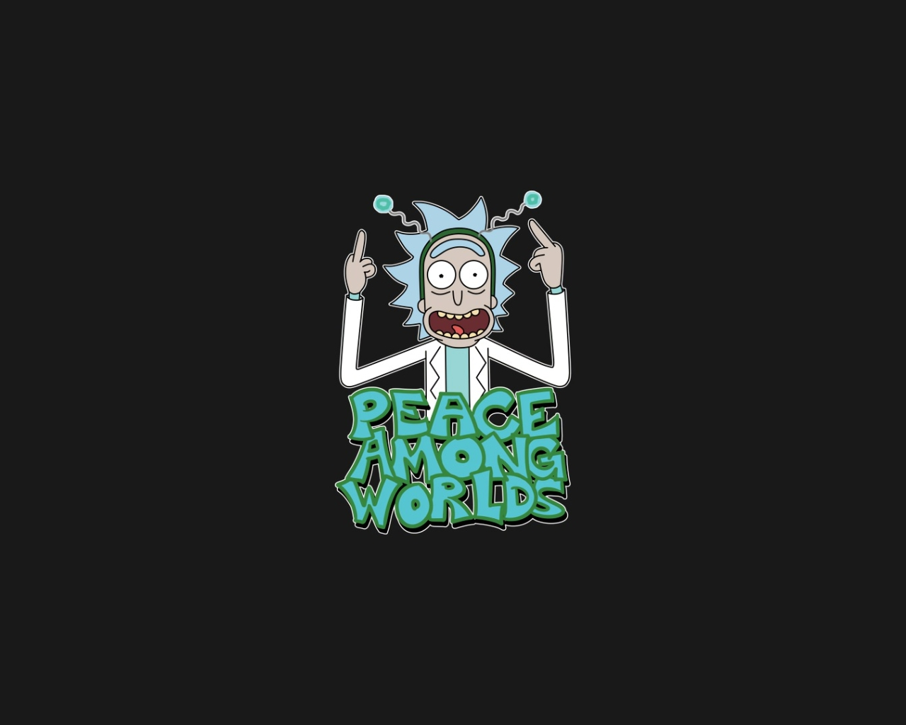 1280x1024 Peace Among Worlds Rick And Morty 1280x1024 Resolution