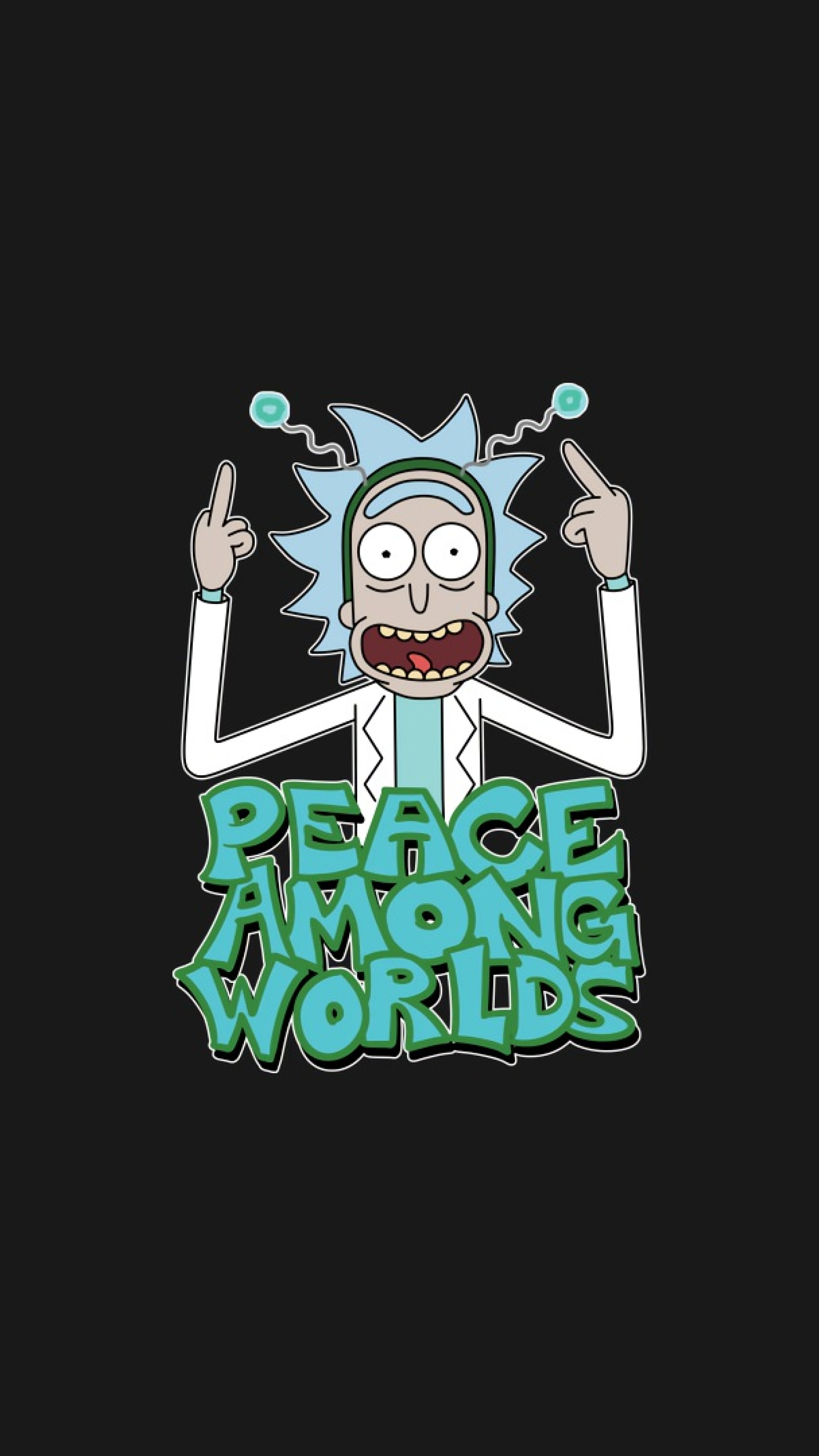 1440x2560 Peace Among Worlds Rick And Morty Samsung Galaxy S6 S7