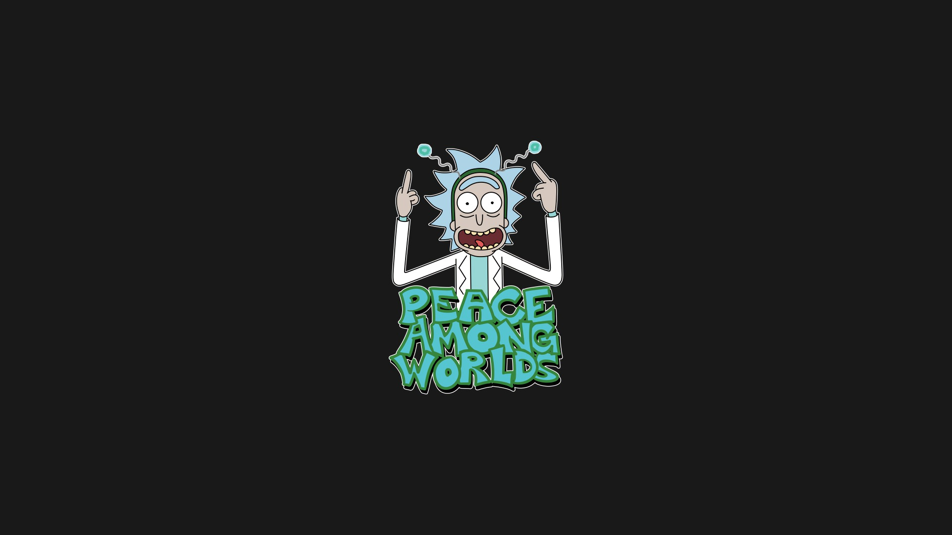 Peace Among Worlds Rick And Morty Wallpaper Hd Superheroes