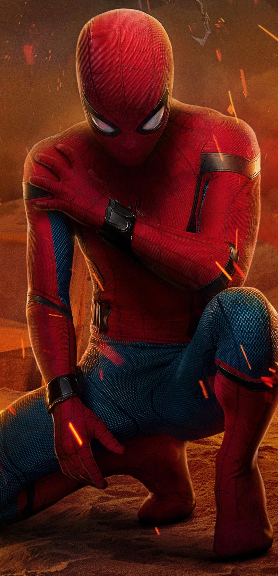 1080x2240 Peter Parker Spider-Man Homecoming 1080x2240 ...