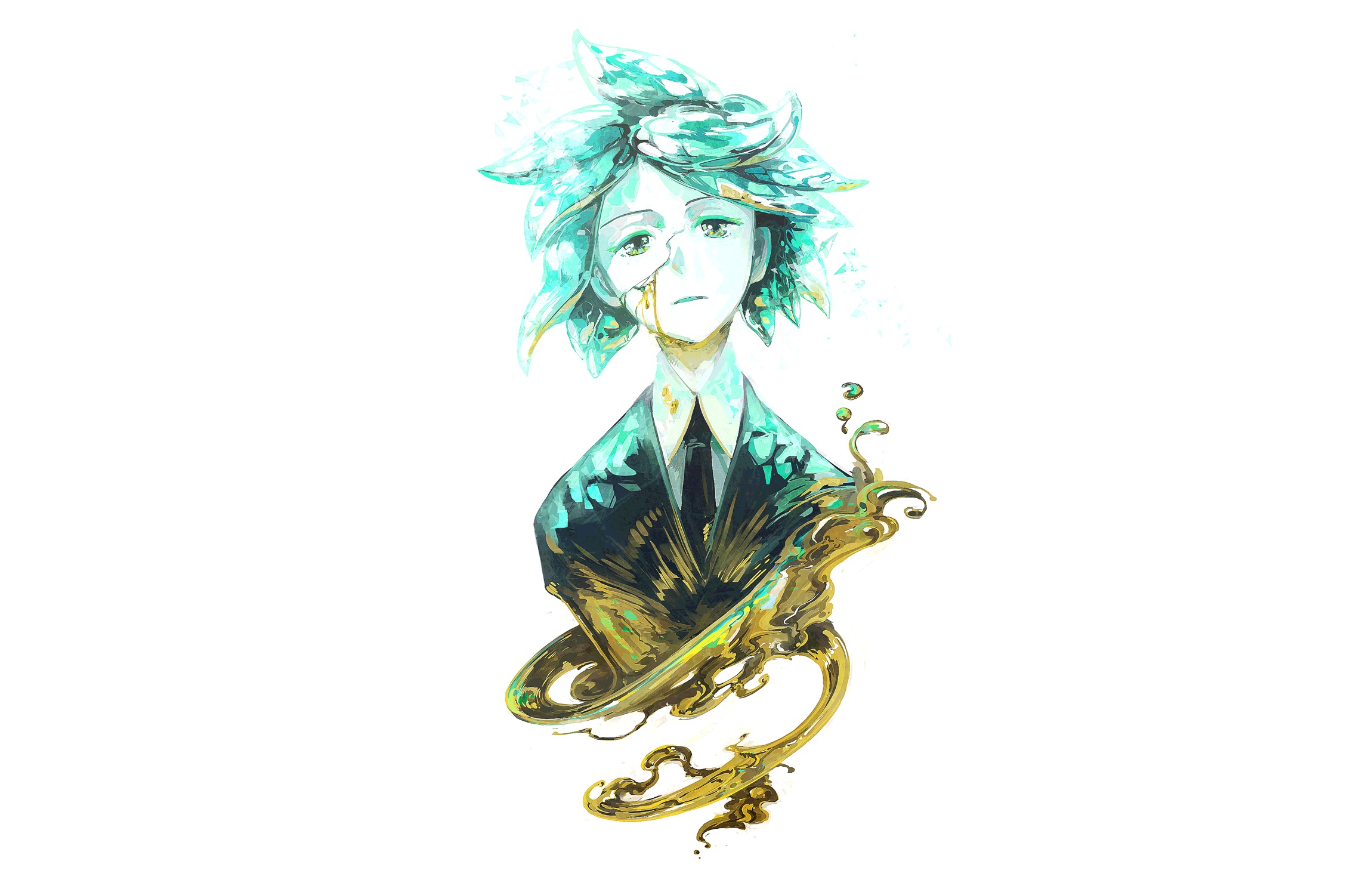 Phosphophyllite Art From Land Of The Lustrous Wallpaper Hd Anime