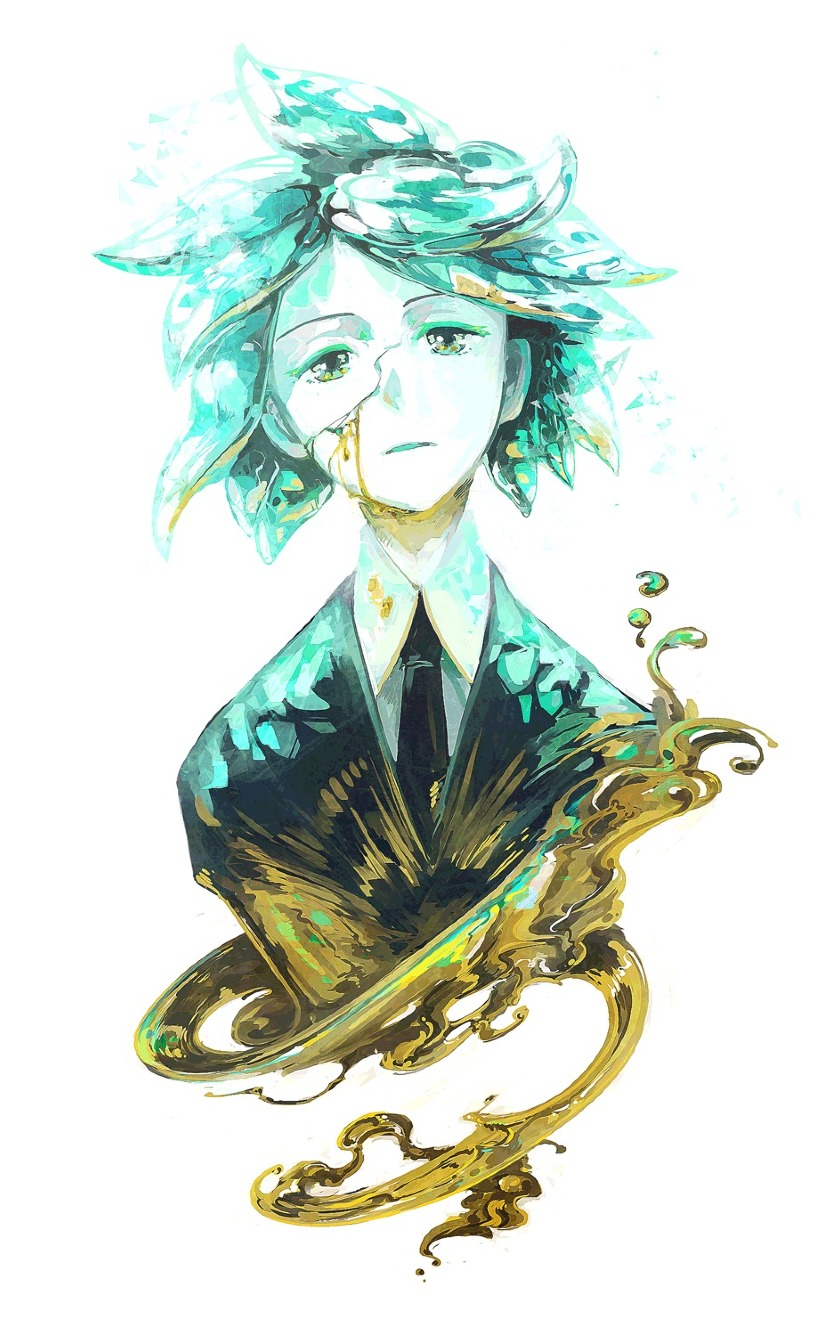 840x1336 Phosphophyllite Art From Land Of The Lustrous 840x1336