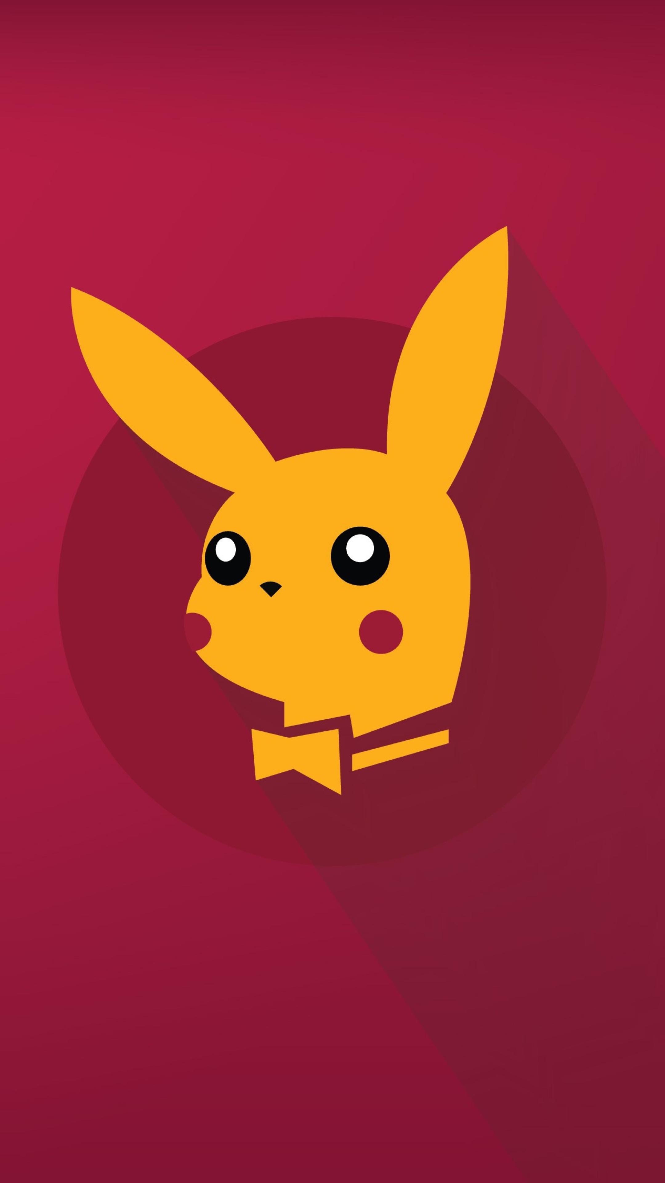 Download Pikachu Minimalist Pokémon 2560x1080 Resolution ...