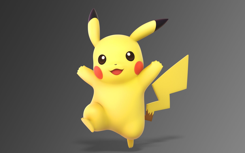 2880x1800 Pikachu Pokemon Portrait Macbook Pro Retina ...