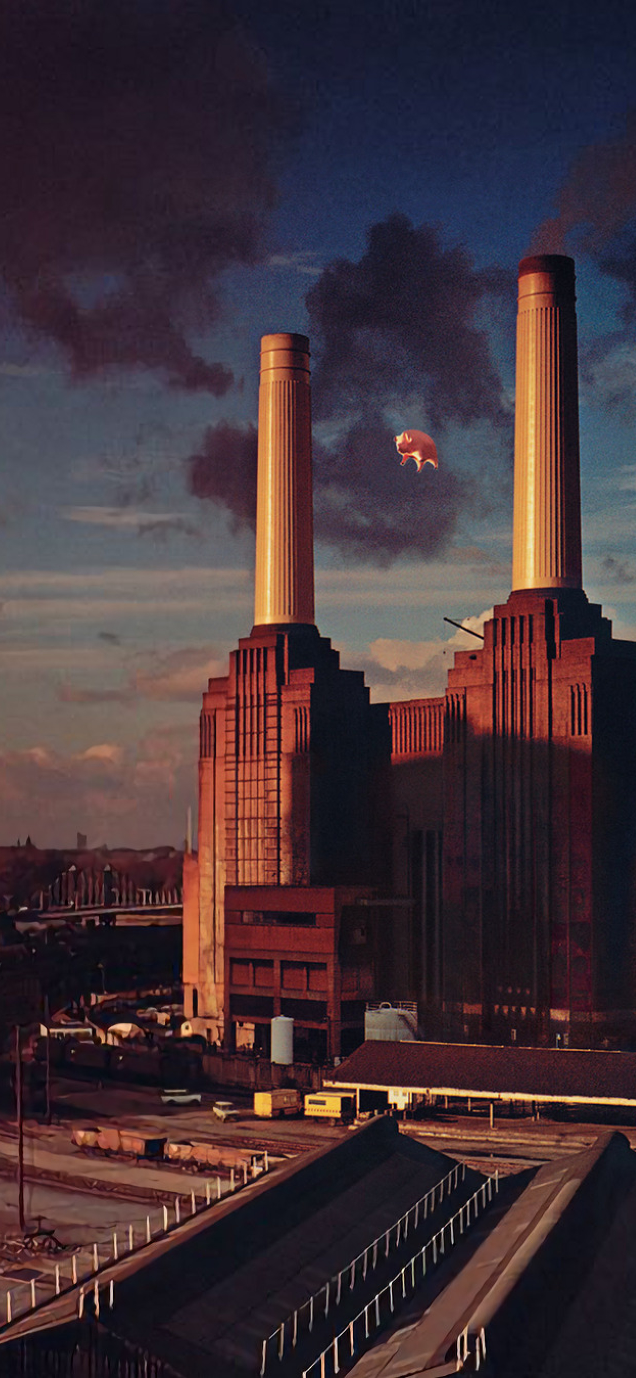 1242x2688 Pink Floyd Animals Album Cover Iphone Xs Max Wallpaper